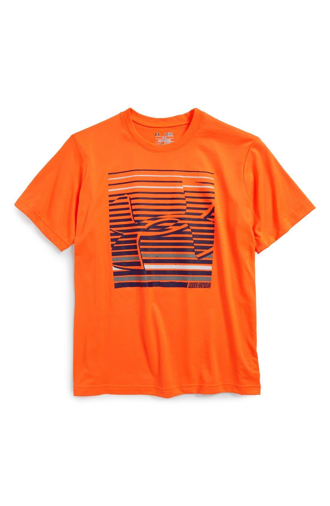 Alternate Image 1 Selected - Under Armour 'UA Strizipes' UA Tech™ T-Shirt (Big Boys)