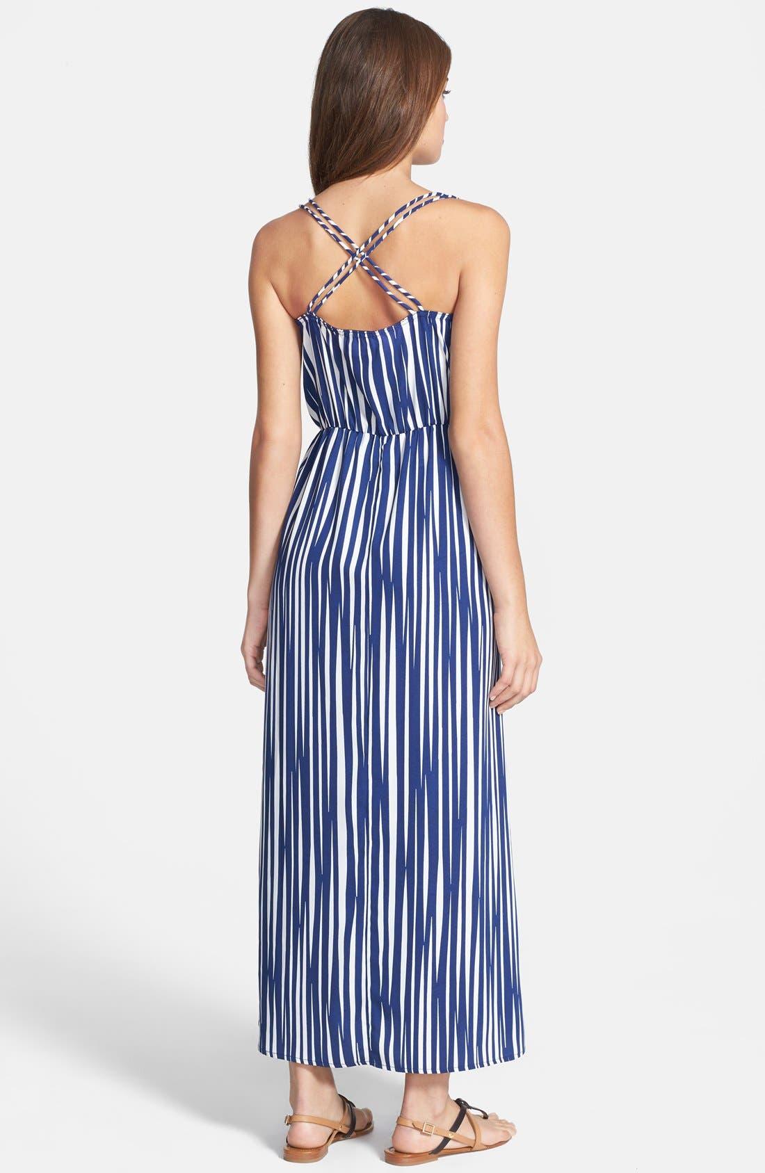 Alternate Image 2  - Dex Stripe Maxi Dress