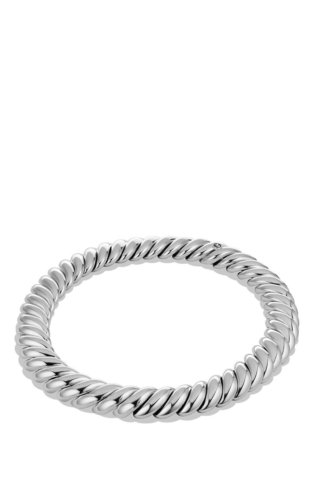 'Hampton Cable' Necklace,                             Alternate thumbnail 2, color,                             Silver