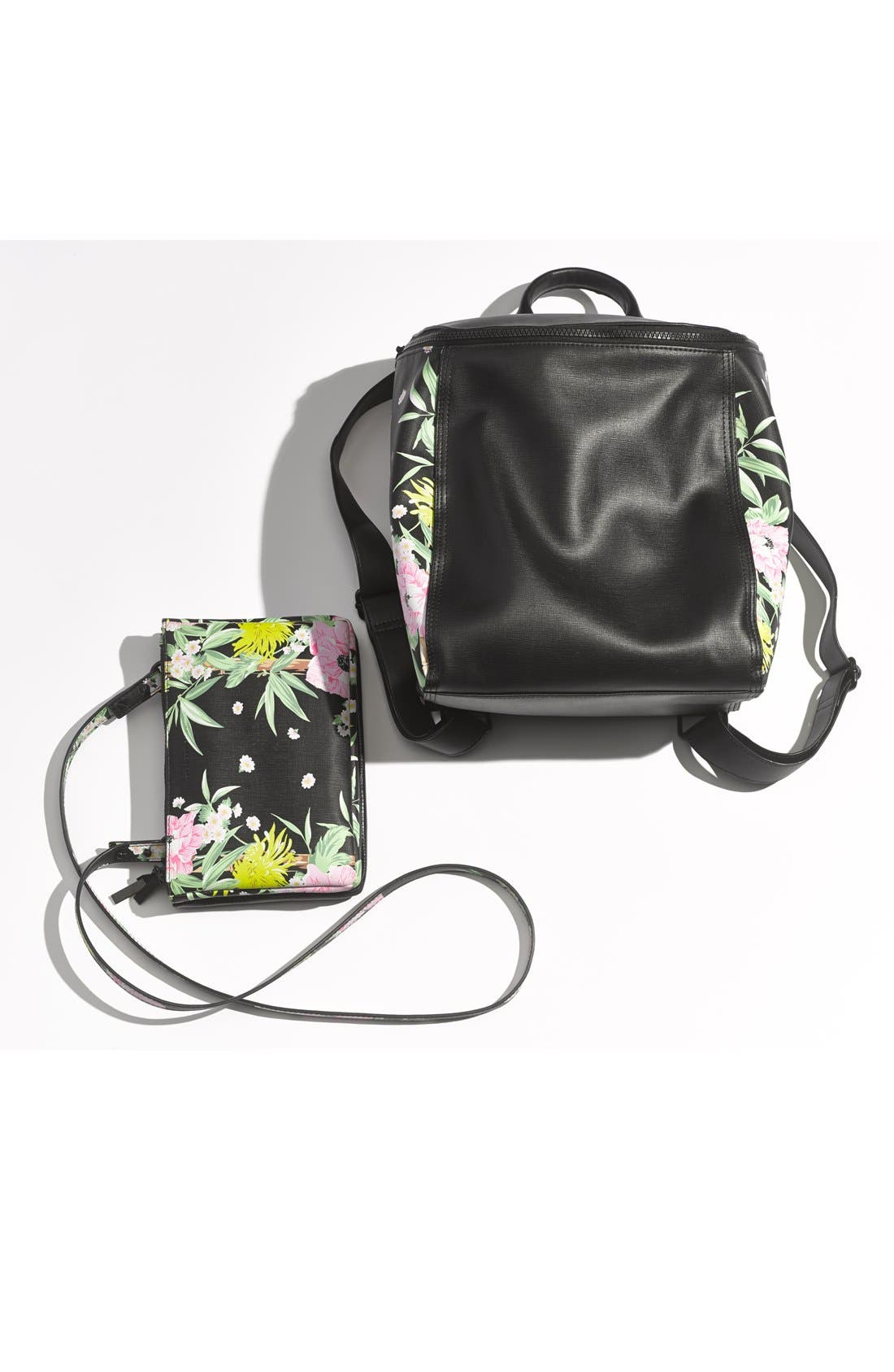 Alternate Image 6  - French Connection 'Mini Gypsy' Faux Leather Crossbody Bag