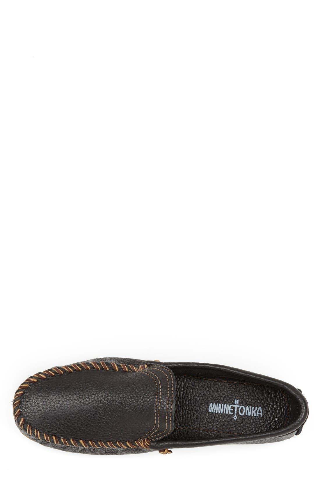 Venetian Loafer,                             Alternate thumbnail 3, color,                             Black
