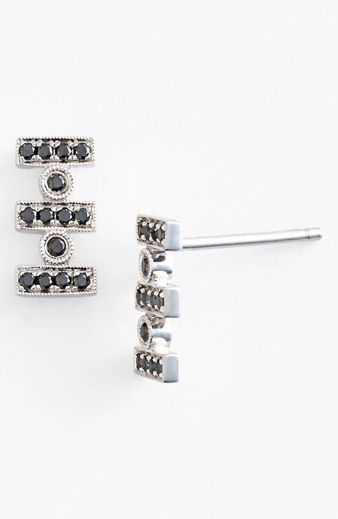 Main Image - Dana Rebecca Designs 'Reese' Diamond Stud Earrings