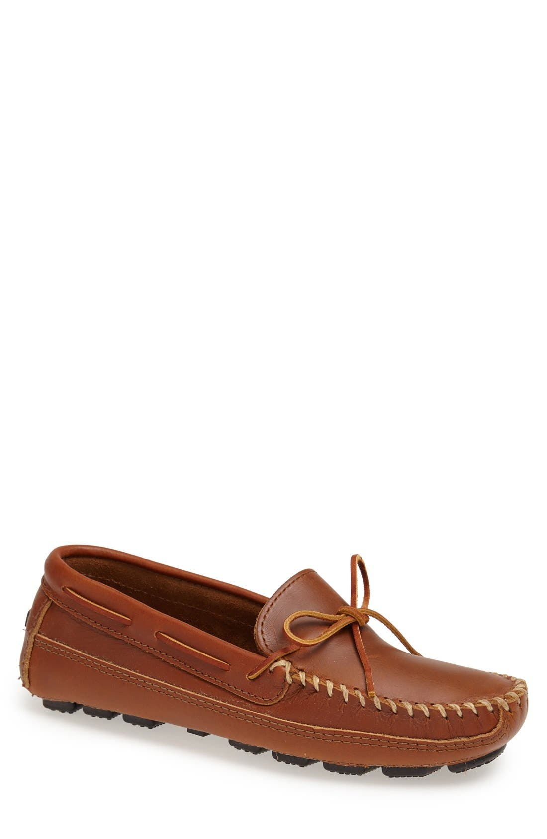 MINNETONKA Leather Driving Shoe