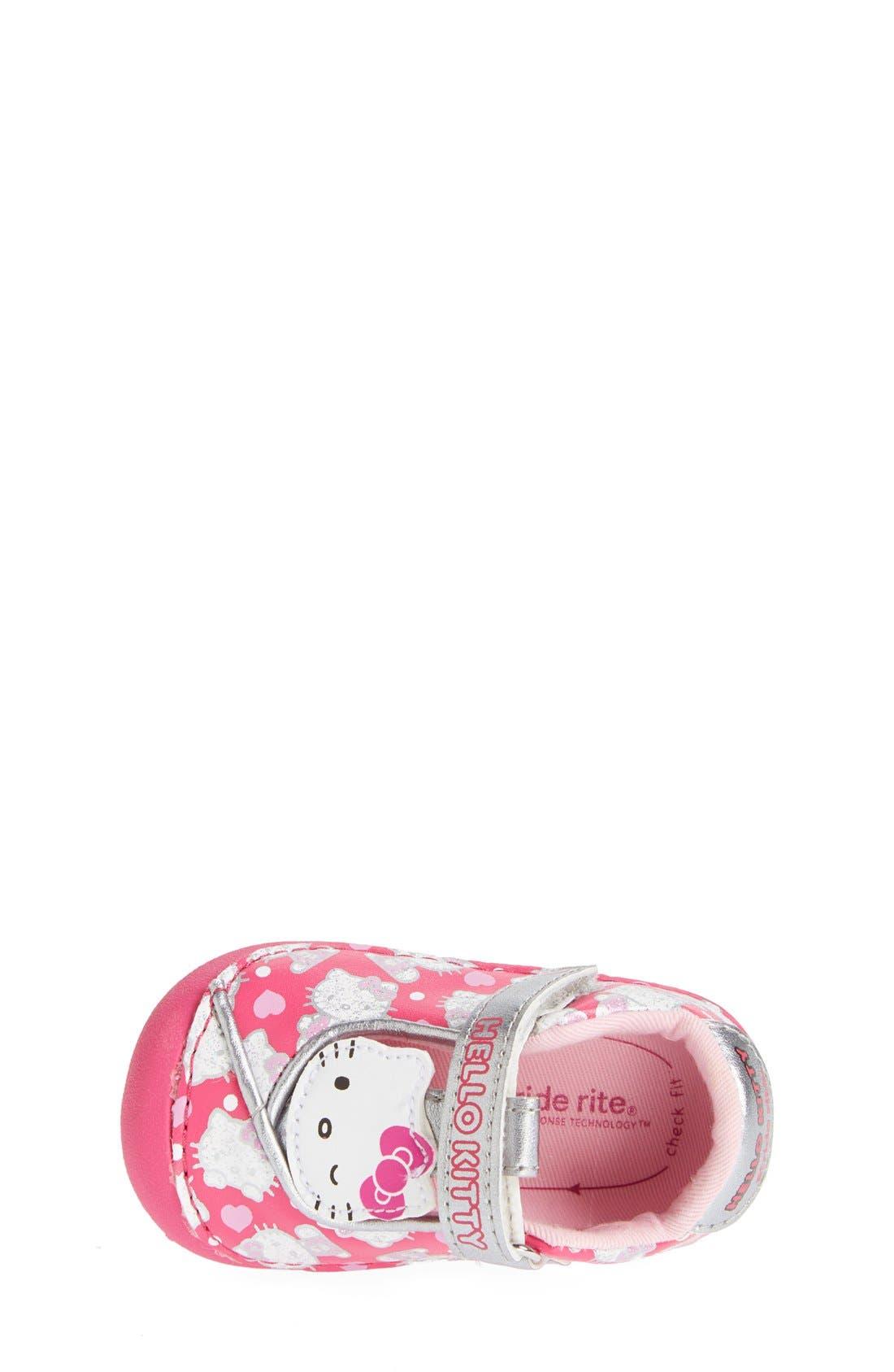 Alternate Image 3  - Stride Rite 'Hello Kitty®' Mary Jane (Baby & Walker)