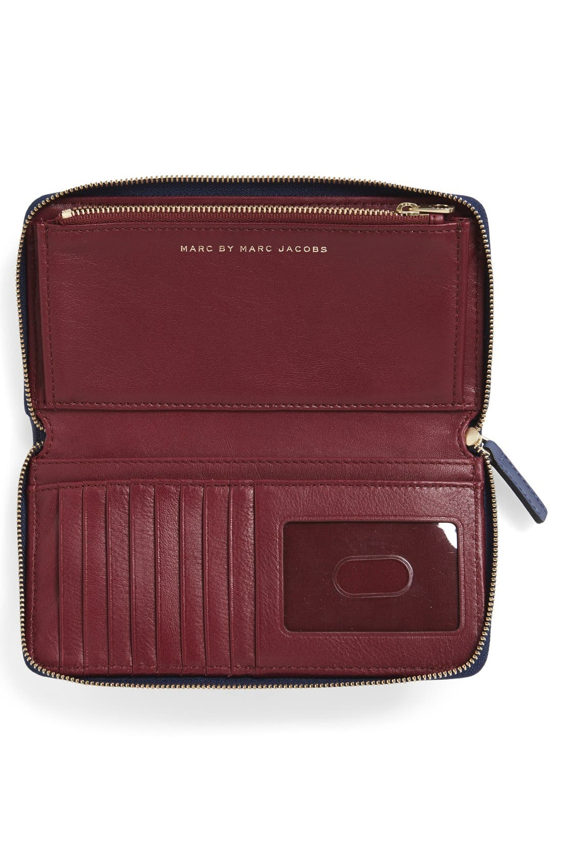 Alternate Image 2  - MARC BY MARC JACOBS 'Quilty Vertical Zippy' Leather Wallet