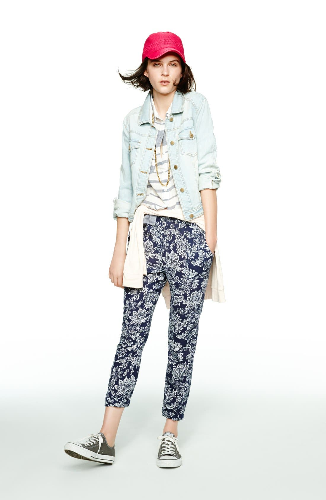 Alternate Image 4  - Ace Delivery Floral Print Pants