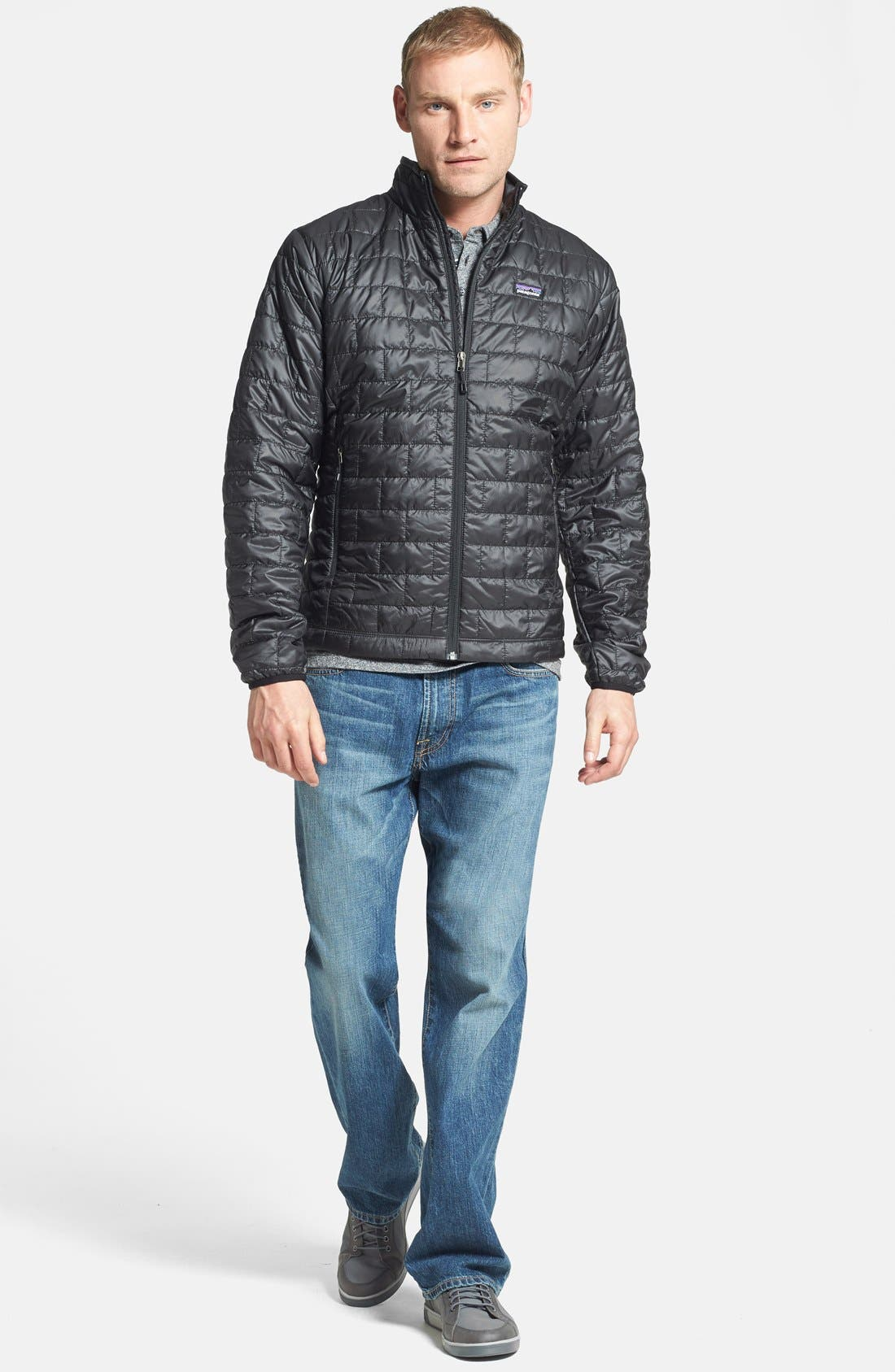 Alternate Image 5  - Lucky Brand '181' Relaxed Fit Jeans (Dellwood) (Online Only)