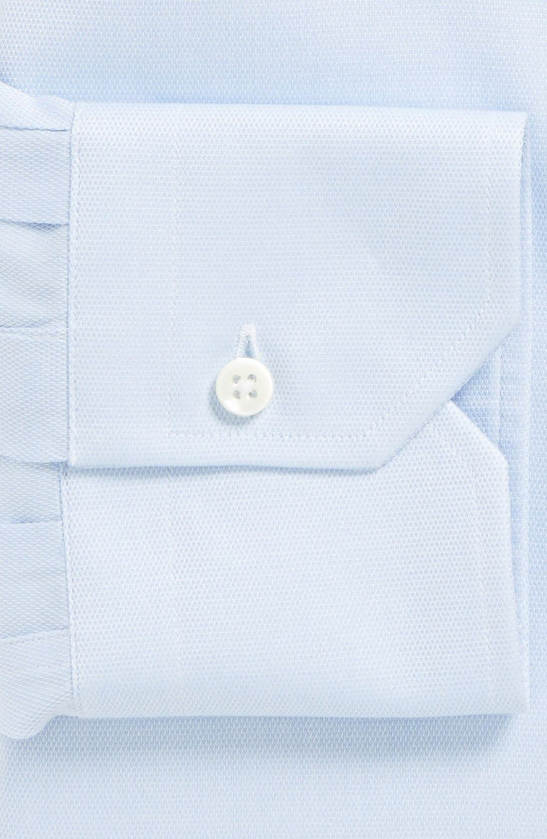 Alternate Image 2  - Canali Regular Fit Solid Dress Shirt