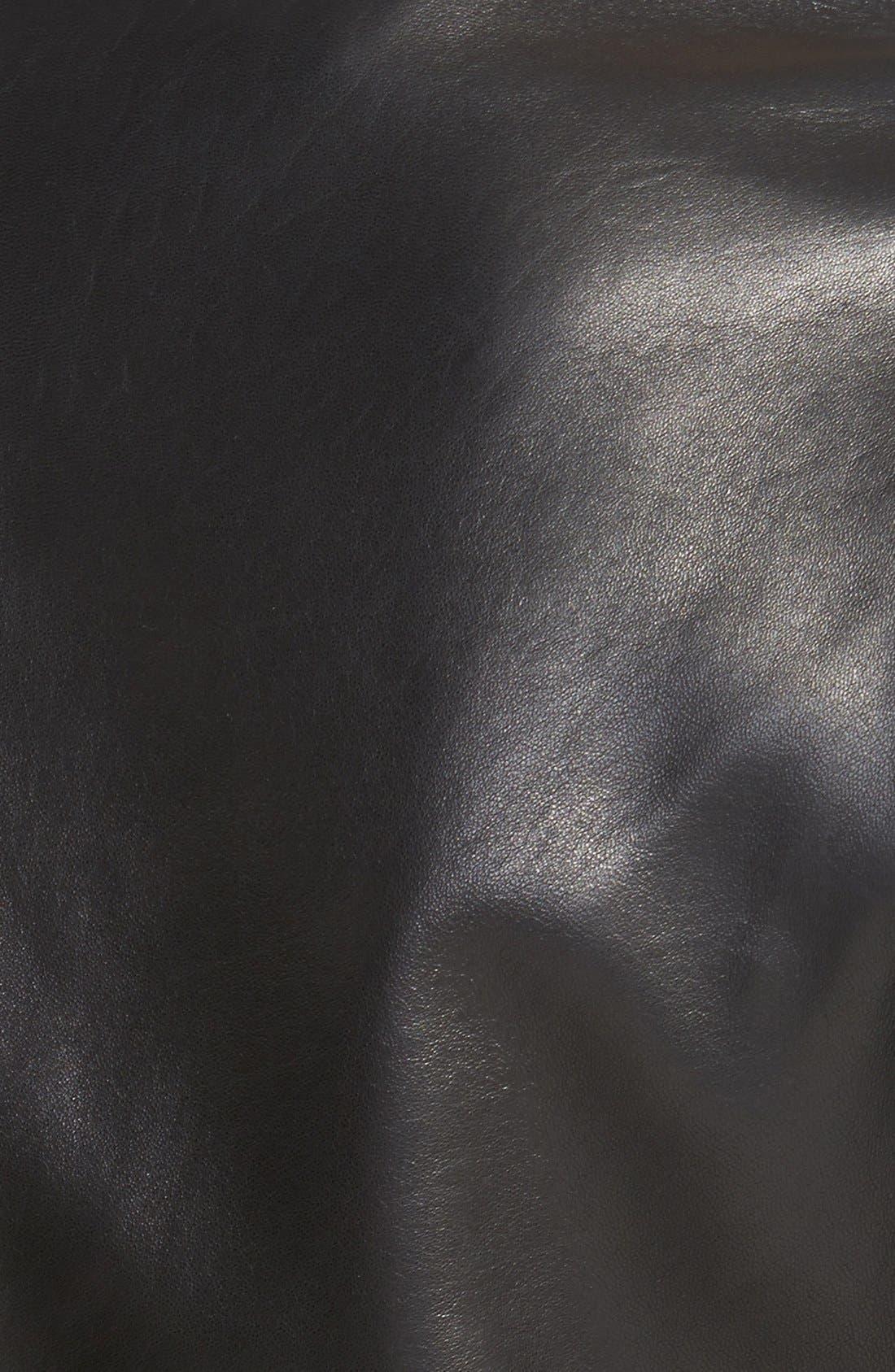 Alternate Image 3  - T Tahari 'Marcille' Leather Scuba Jacket