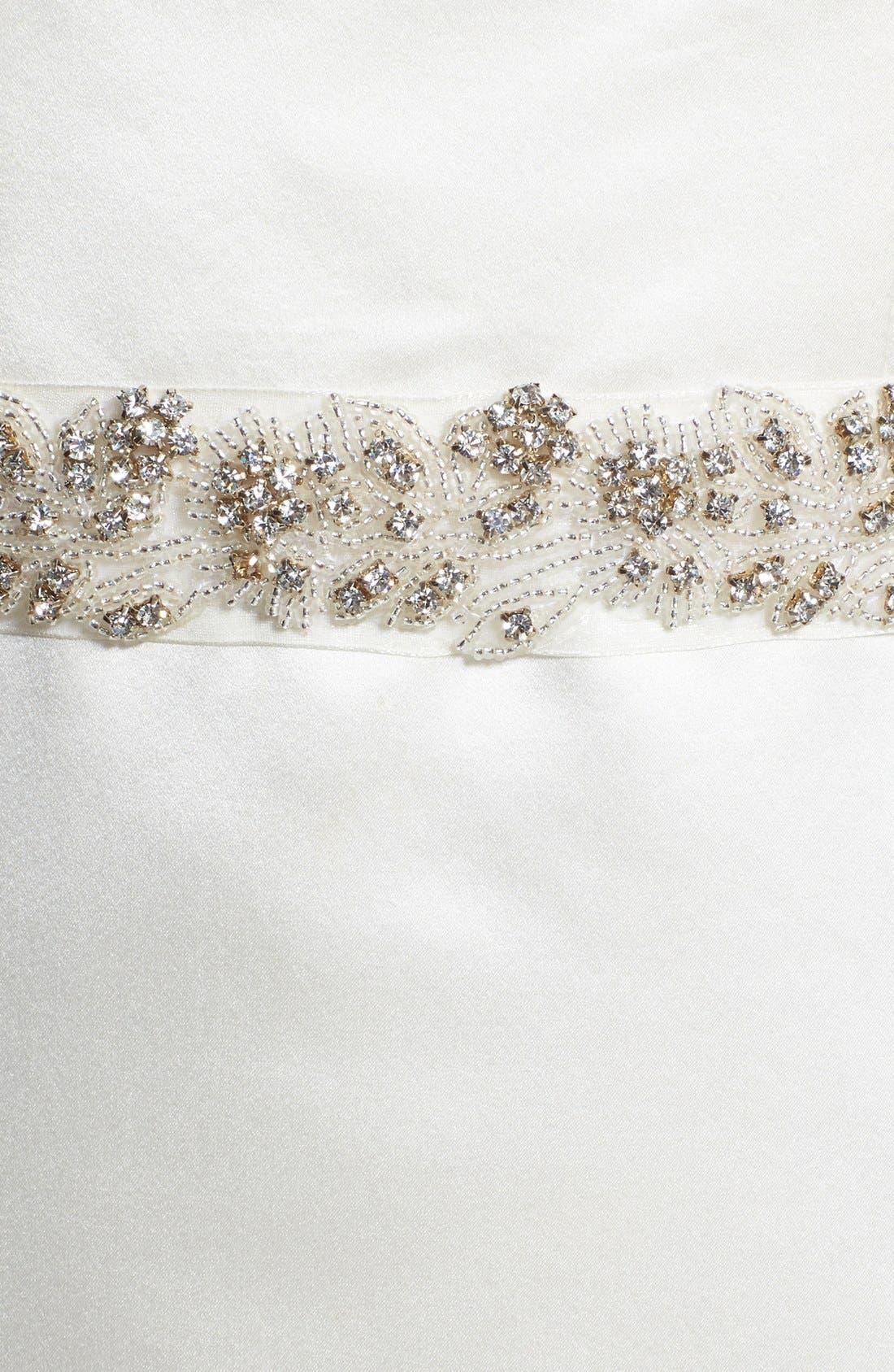 Alternate Image 2  - Nina 'Cassis' Embellished Belt