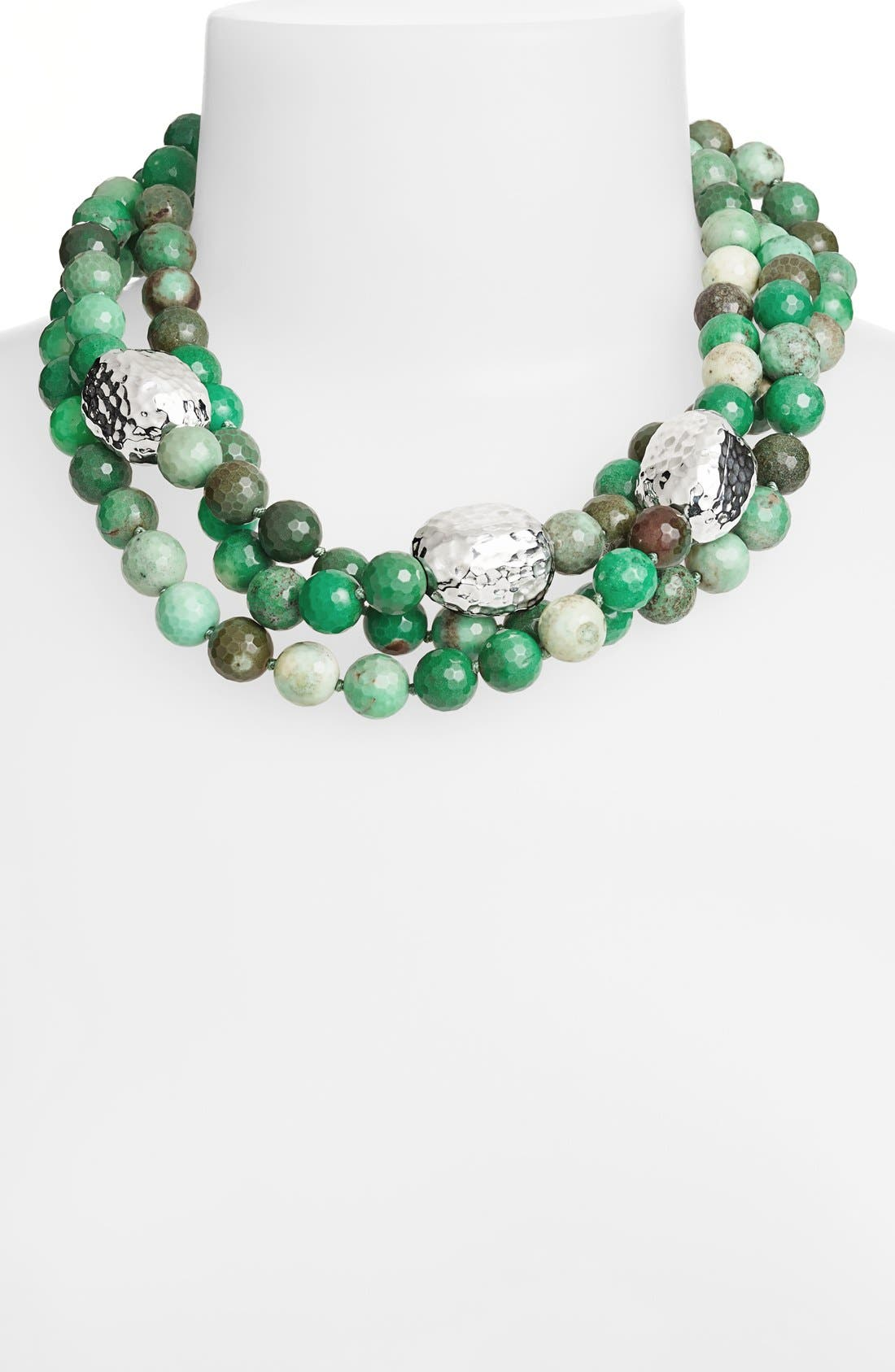 Main Image - Simon Sebbag 'Dead Sea' Beaded Multistrand Necklace
