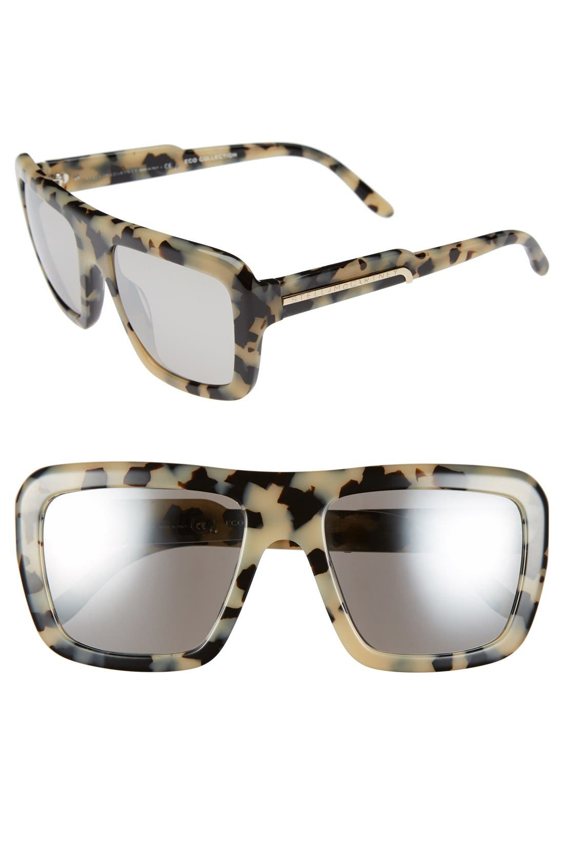 Main Image - Stella McCartney 55mm Sunglasses