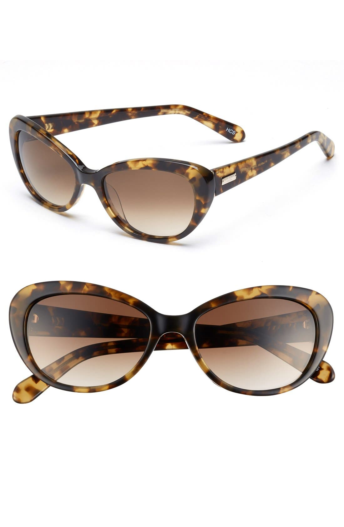 Main Image - kate spade new york 'inga' cat eye sunglasses