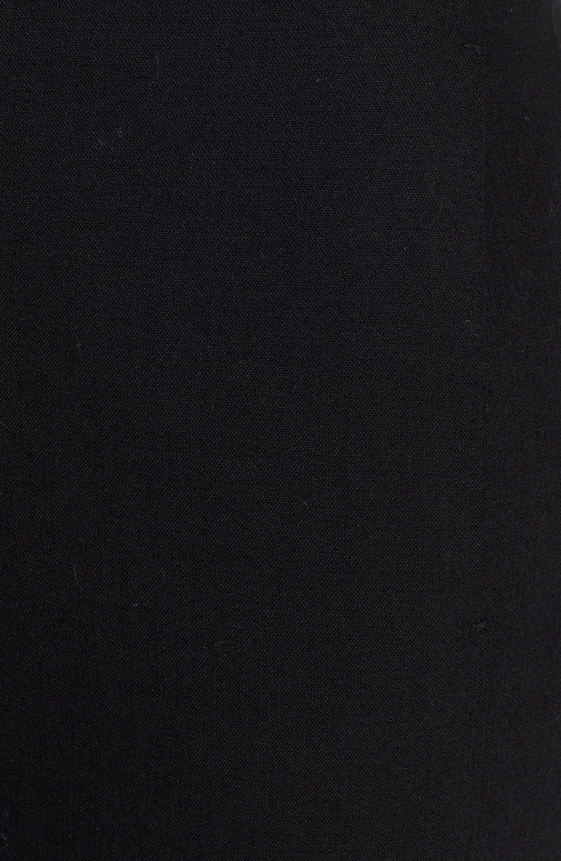 Alternate Image 3  - Donna Karan Collection Zip Detail Crop Trousers