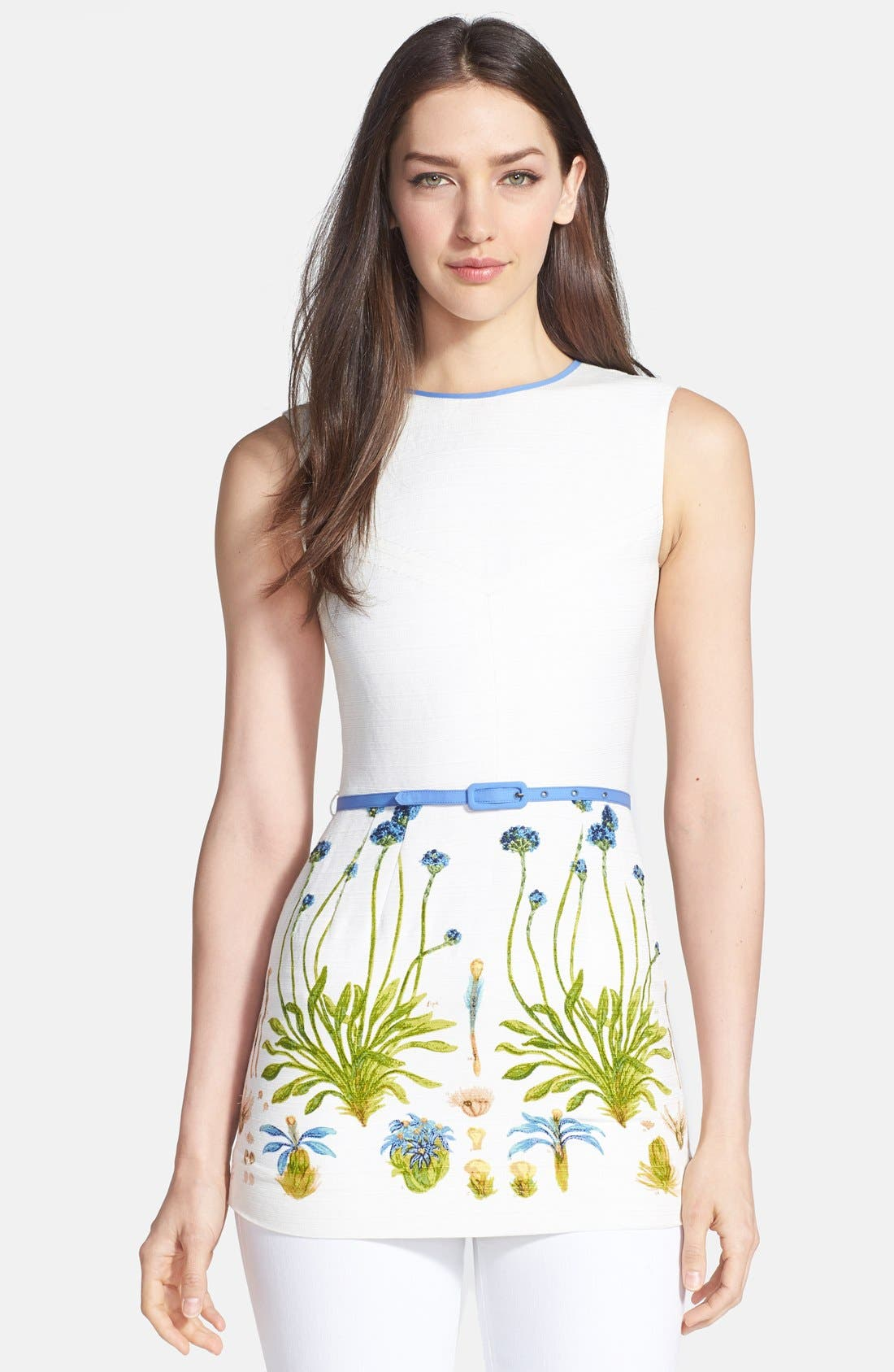 Alternate Image 1 Selected - Tory Burch 'Brandyce' Belted Ottoman Tunic