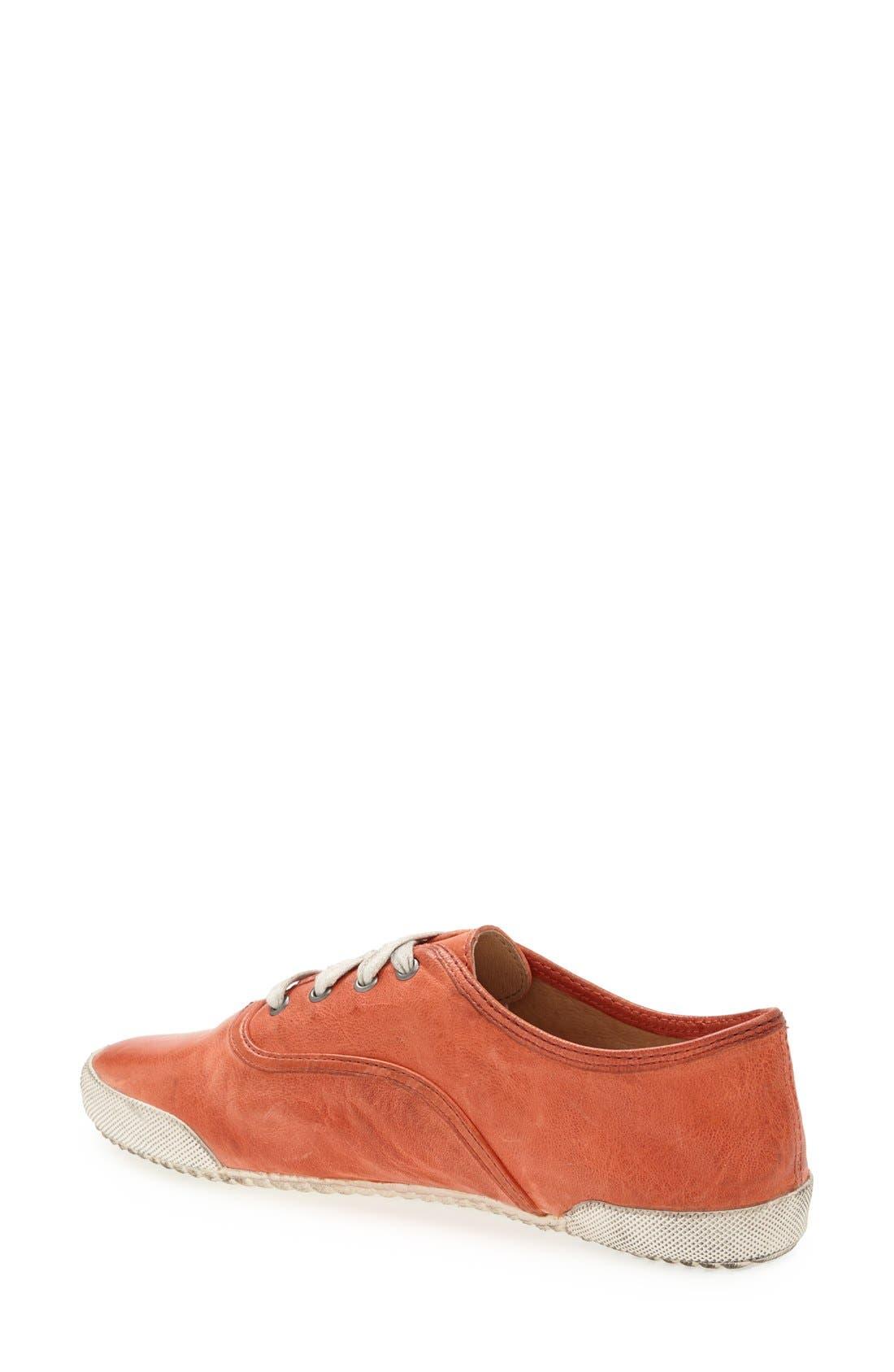 Alternate Image 2  - Frye 'Melanie' Leather Sneaker (Women)