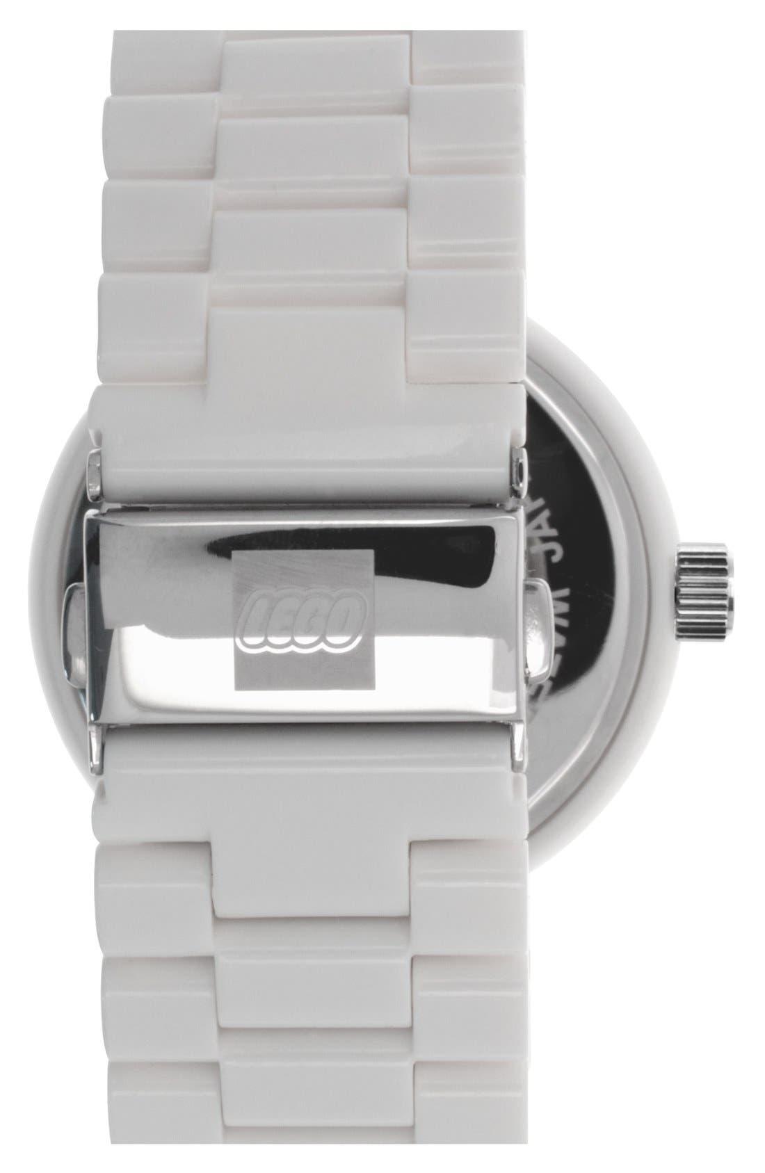 Alternate Image 2  - LEGO® 'Silhouette' Bracelet Watch, 42mm