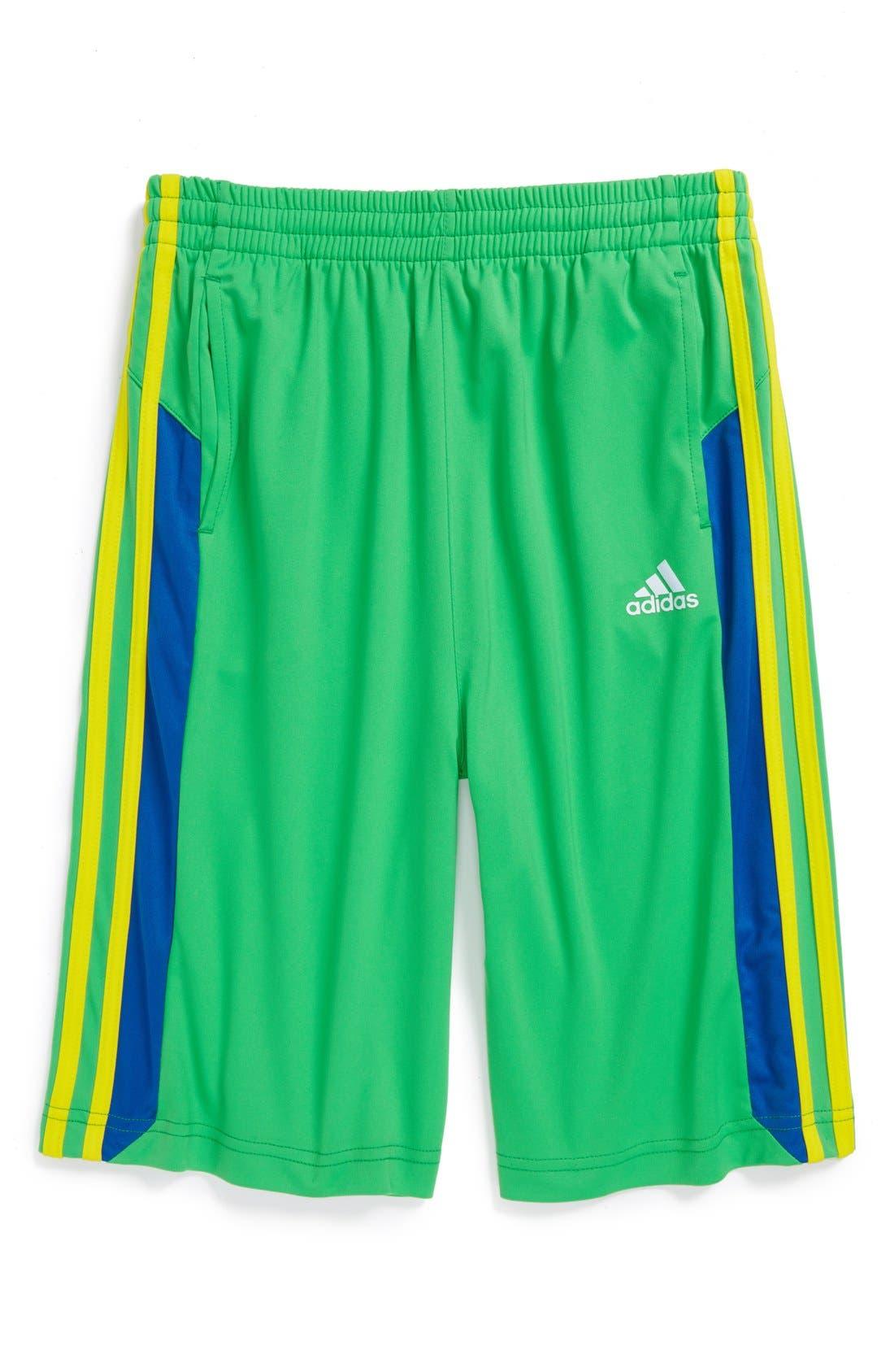 Alternate Image 1 Selected - adidas 'Global' Shorts (Big Boys)
