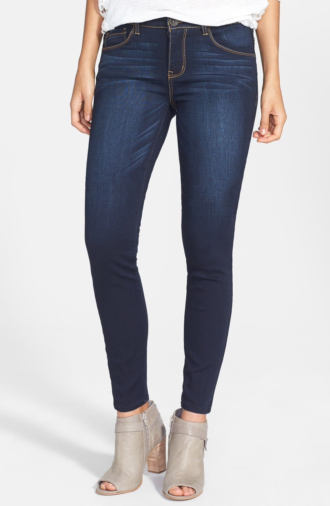 Main Image - Jolt Stretch Skinny Jeans (Online Only)