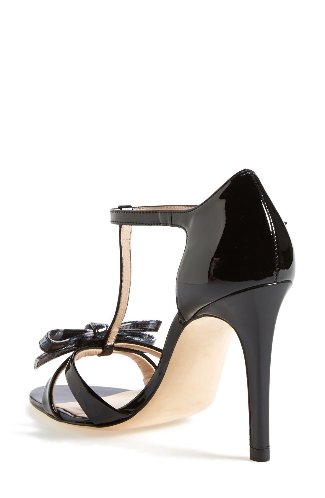 Alternate Image 2  - L.K. Bennett 'Anya' T-Strap Leather Sandal (Women)