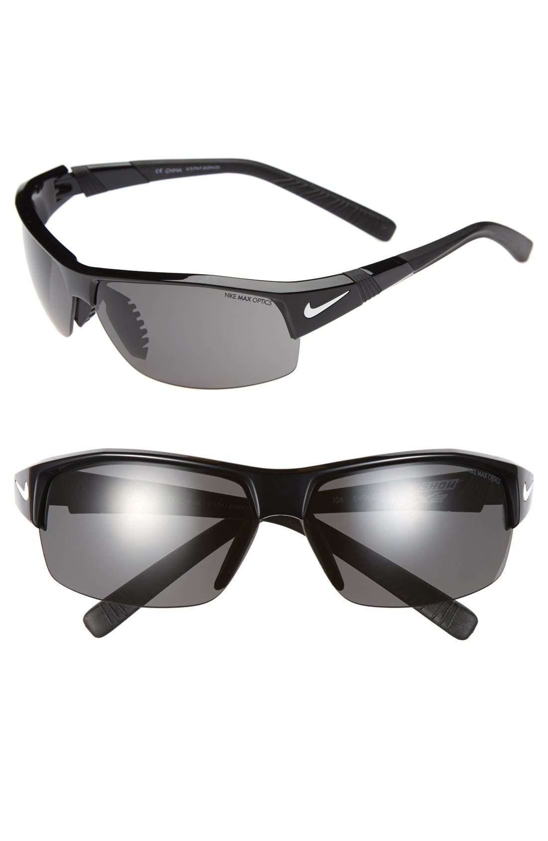 NIKE Show X2 Semi Rimless 69mm Sunglasses