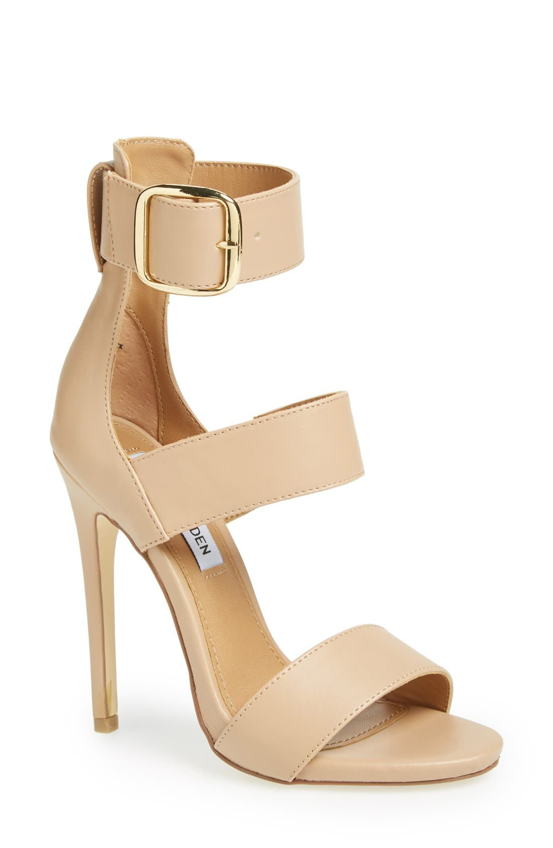 Alternate Image 1 Selected - Steve Madden 'Mysterii' Ankle Strap Sandal