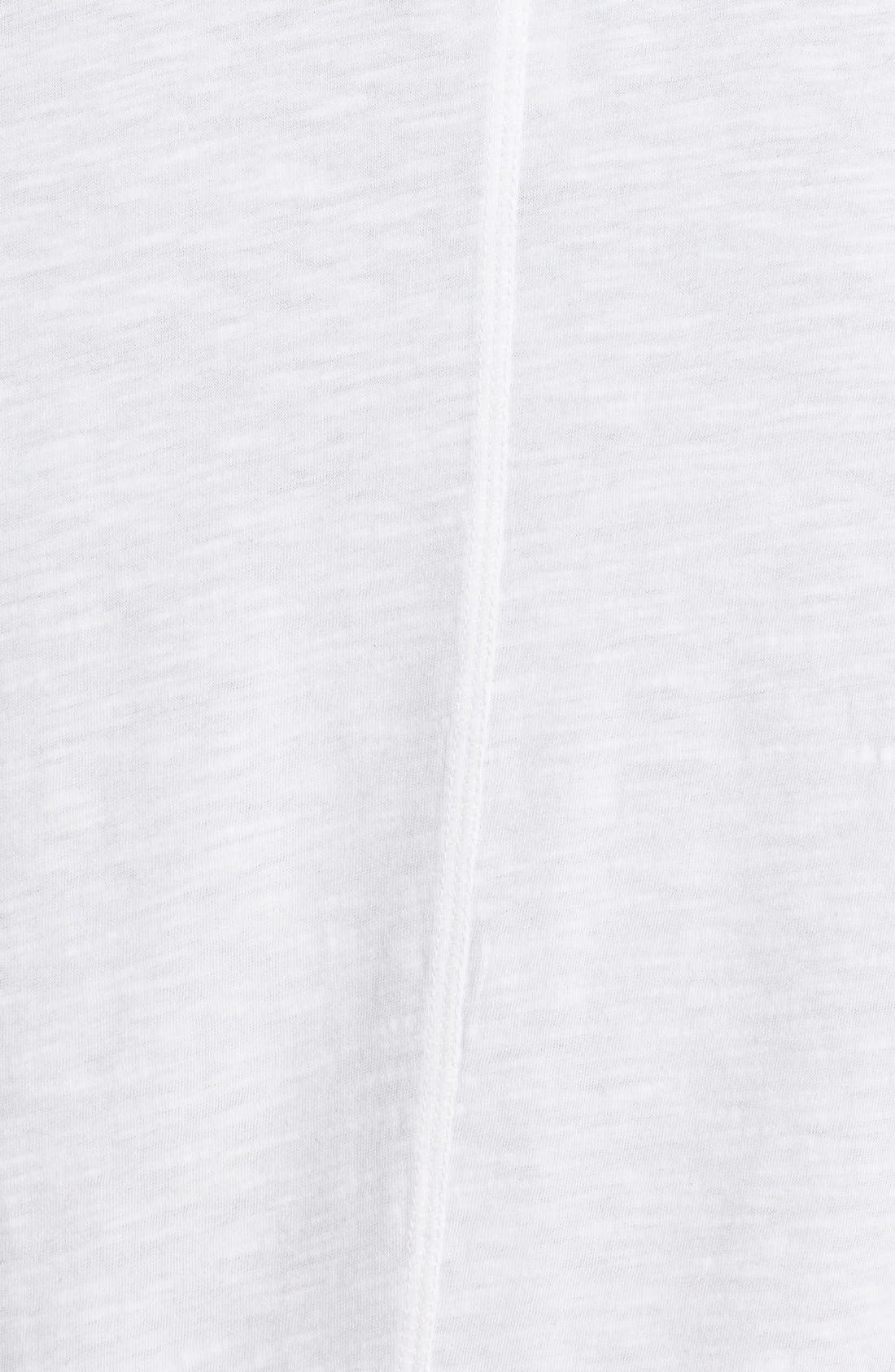 Alternate Image 3  - Sejour Slub Cotton Waterfall Cardigan (Plus Size)