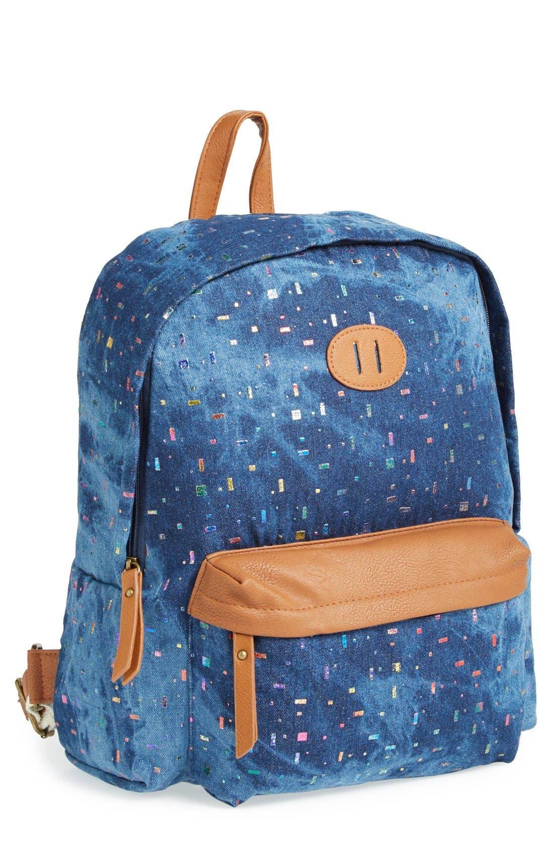 Alternate Image 1 Selected - Steve Madden Canvas Backpack
