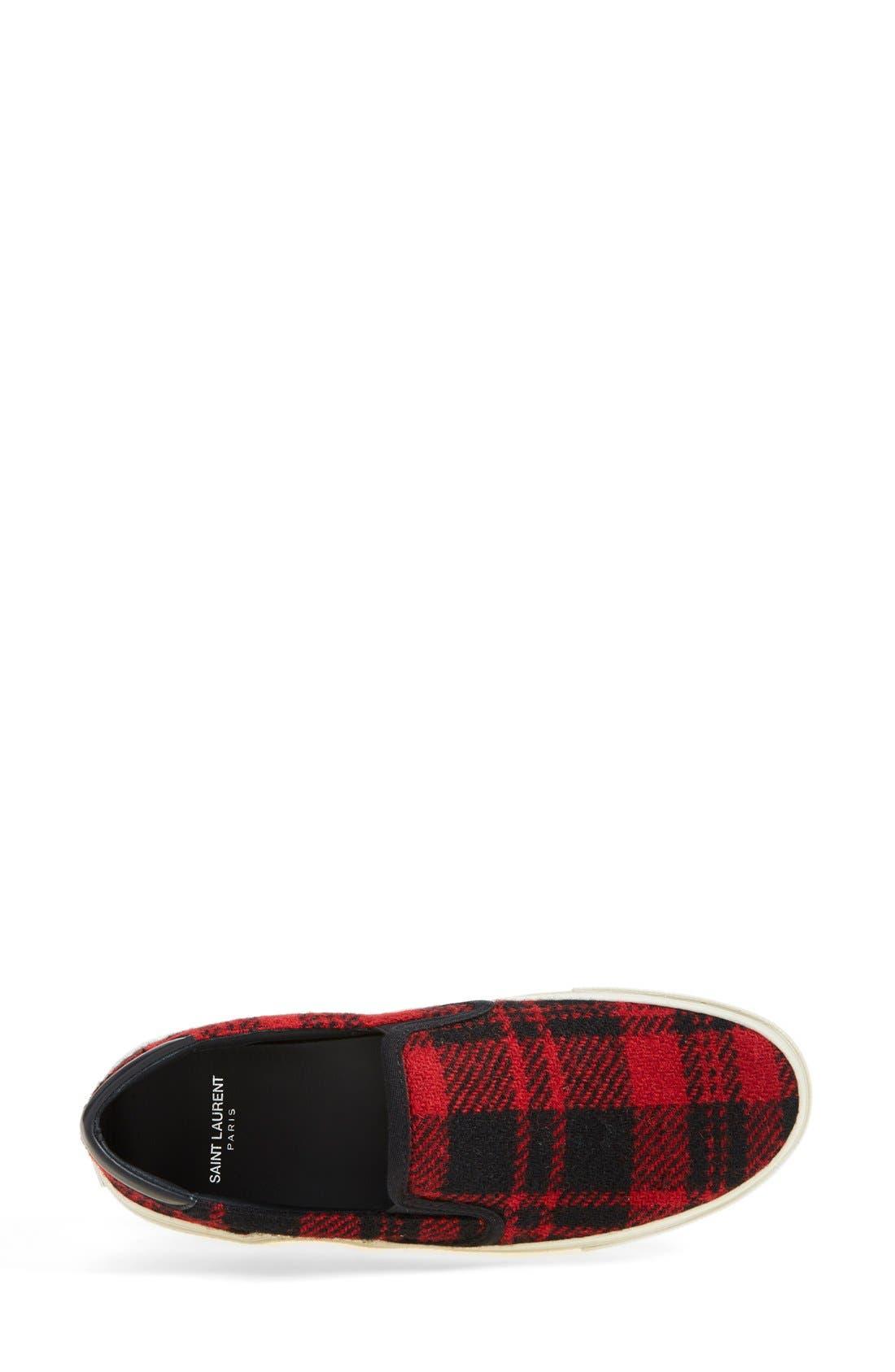 Alternate Image 3  - Saint Laurent 'Skate' Slip-On Sneaker (Women)