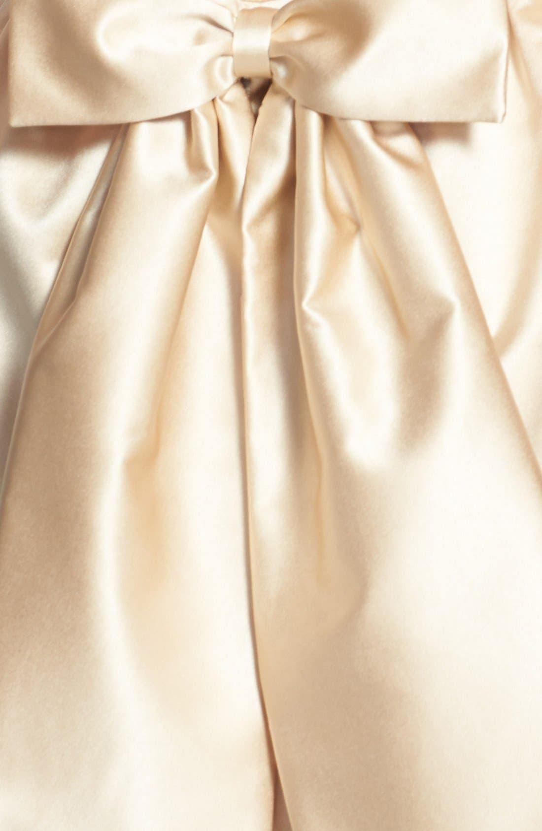 Alternate Image 4  - ERIN erin fetherston 'Winona' Bow Detail Peau de Soie Sheath Dress
