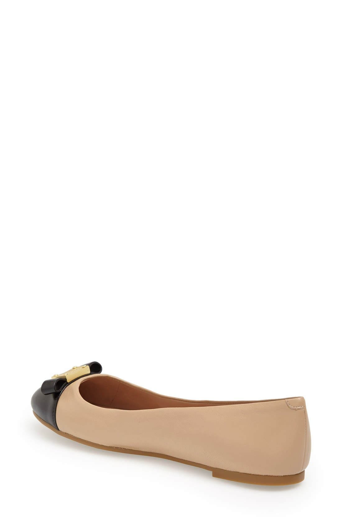 Alternate Image 2  - MARC BY MARC JACOBS Cap Toe Ballet Flat (Women)