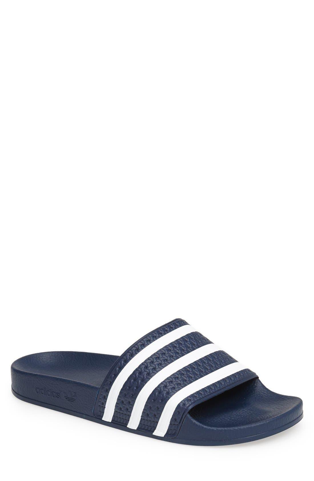 adidas slip on flip flops