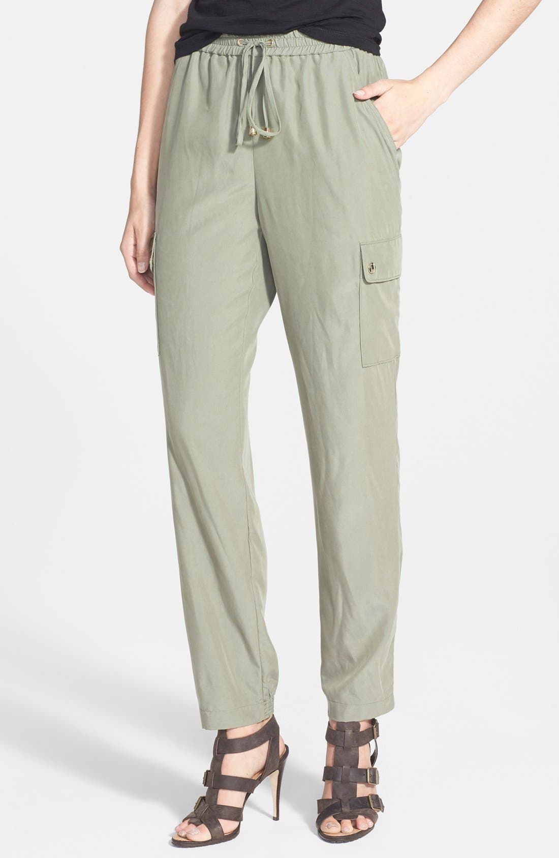 Alternate Image 1 Selected - Two by Vince Camuto Cargo Pocket Track Pants