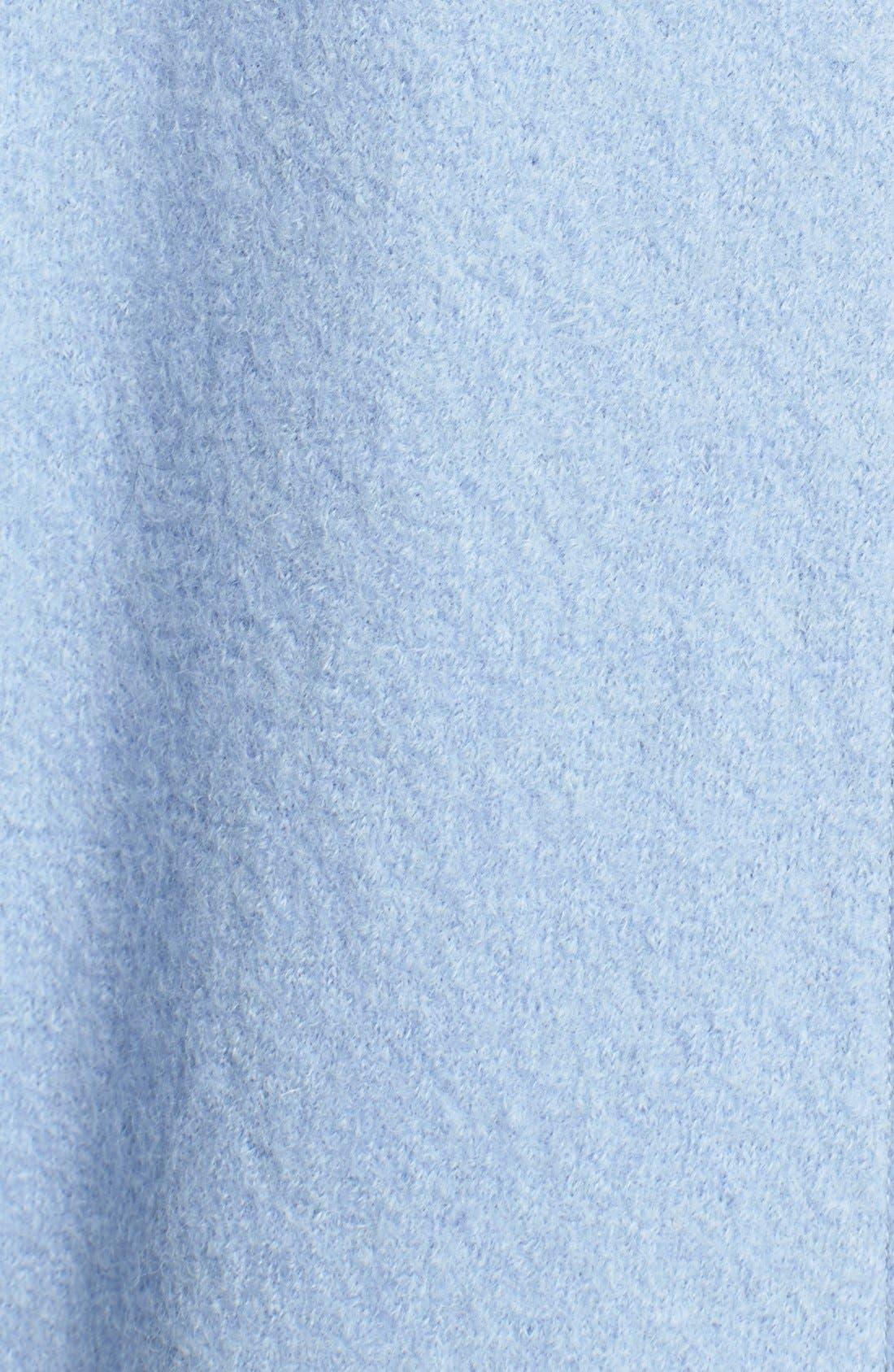 Alternate Image 3  - Helene Berman Boiled Wool Cocoon Coat