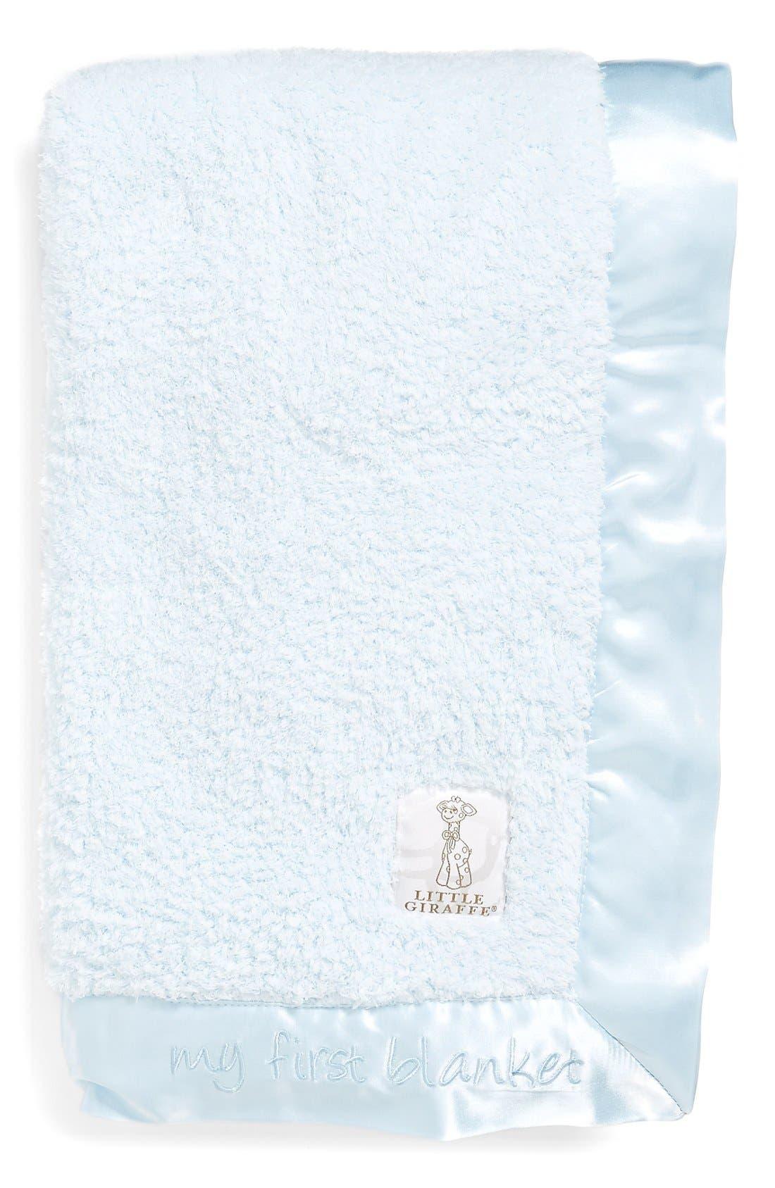 little giraffe my first blanket chenille blanket online only - Chenille Blanket