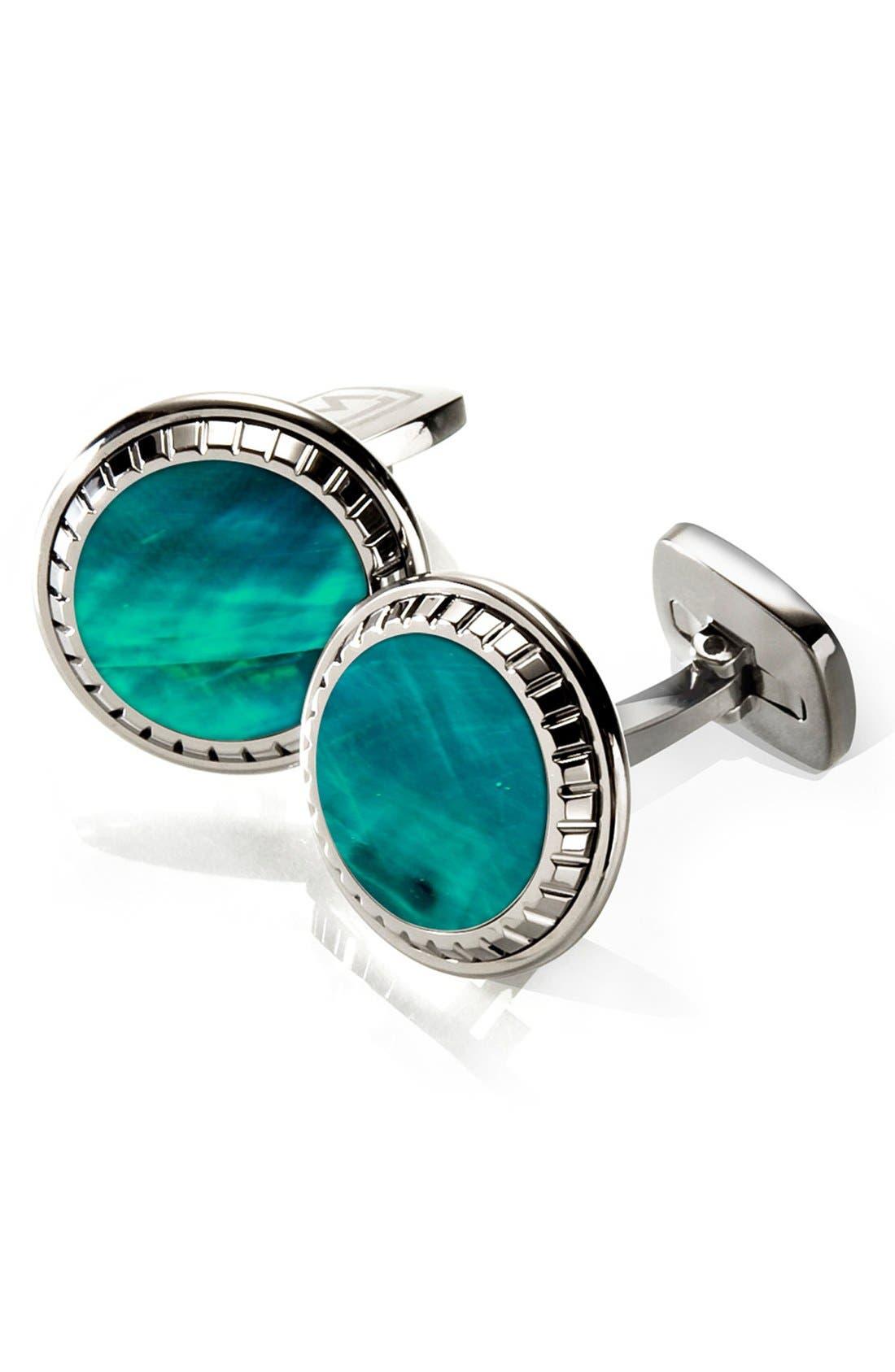 Main Image - M-Clip® Abalone Cuff Links