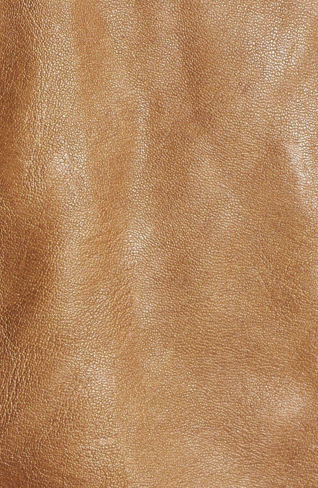 Alternate Image 3  - BB Dakota 'Janeen' Faux Leather Moto Jacket (Plus Size)