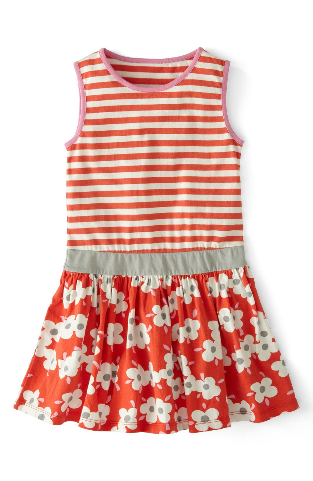 Alternate Image 1 Selected - Mini Boden 'Jolly' Cotton Jersey Dress (Toddler Girls)