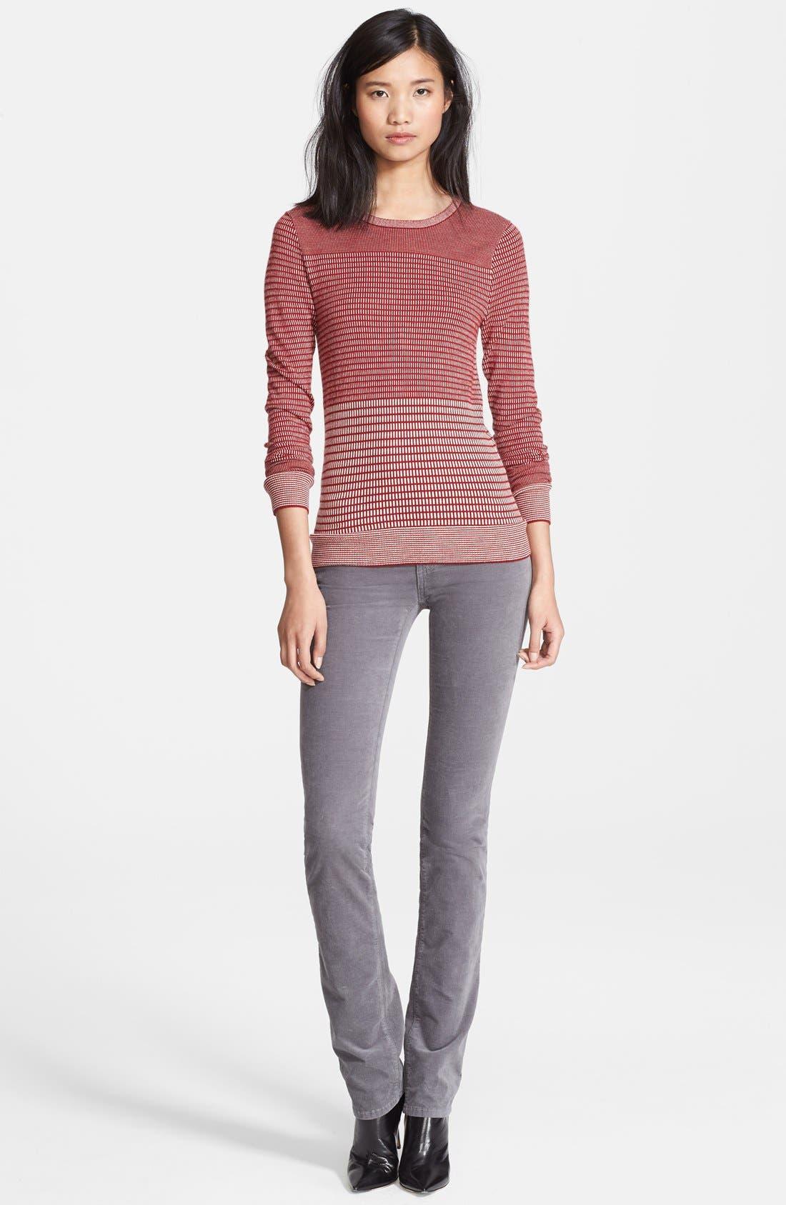 Main Image - Charlotte Gainsbourg for Current/Elliott Jacquard Sweater