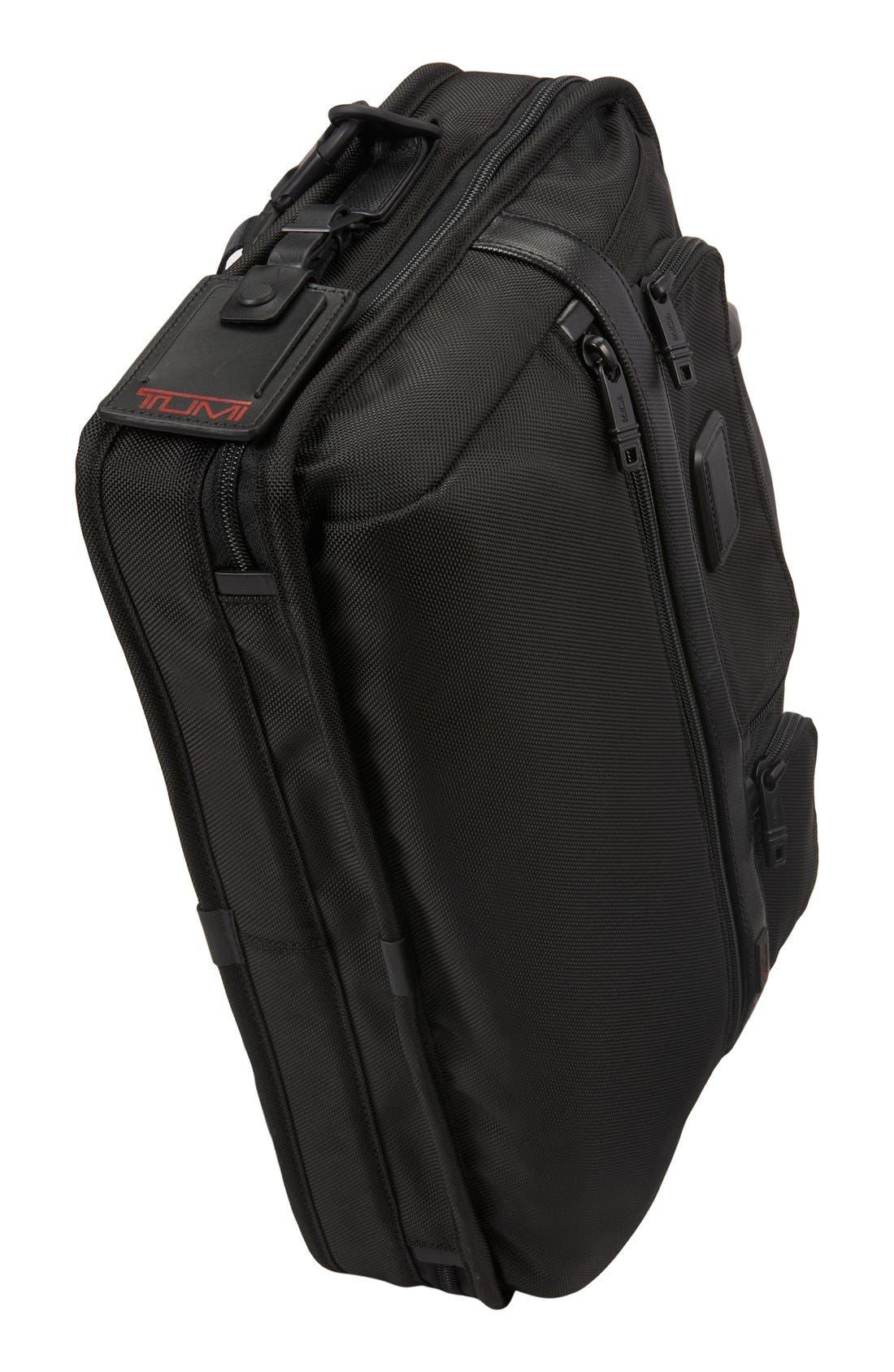 Alpha 2 T-Pass<sup>™</sup> Laptop Briefcase,                             Alternate thumbnail 4, color,                             Black