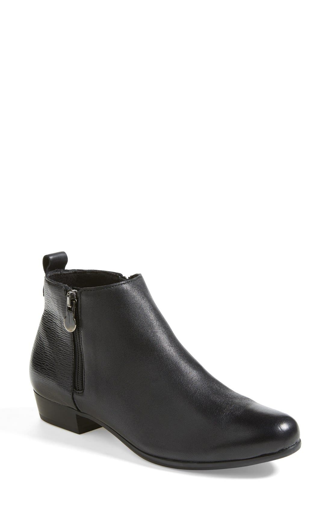 'Lexi' Boot,                         Main,                         color, Black Leather