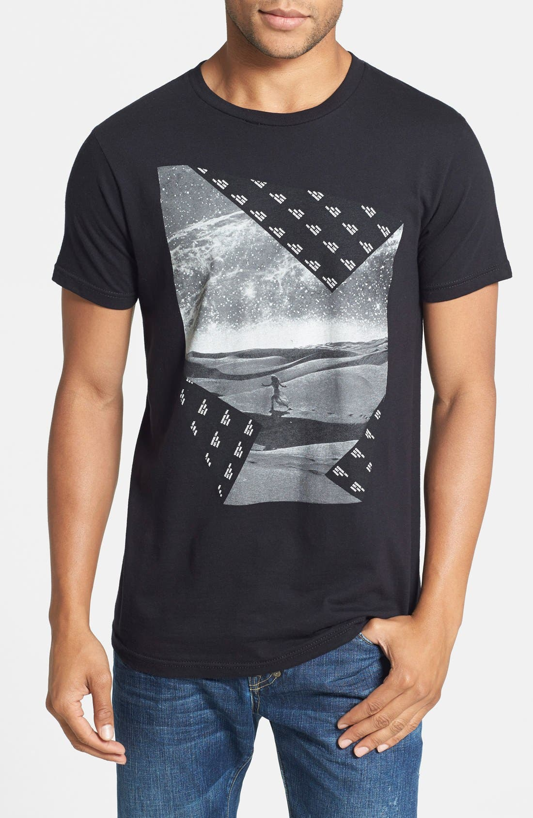 Alternate Image 1 Selected - Ezekiel 'Europa' Graphic T-Shirt (Online Only)