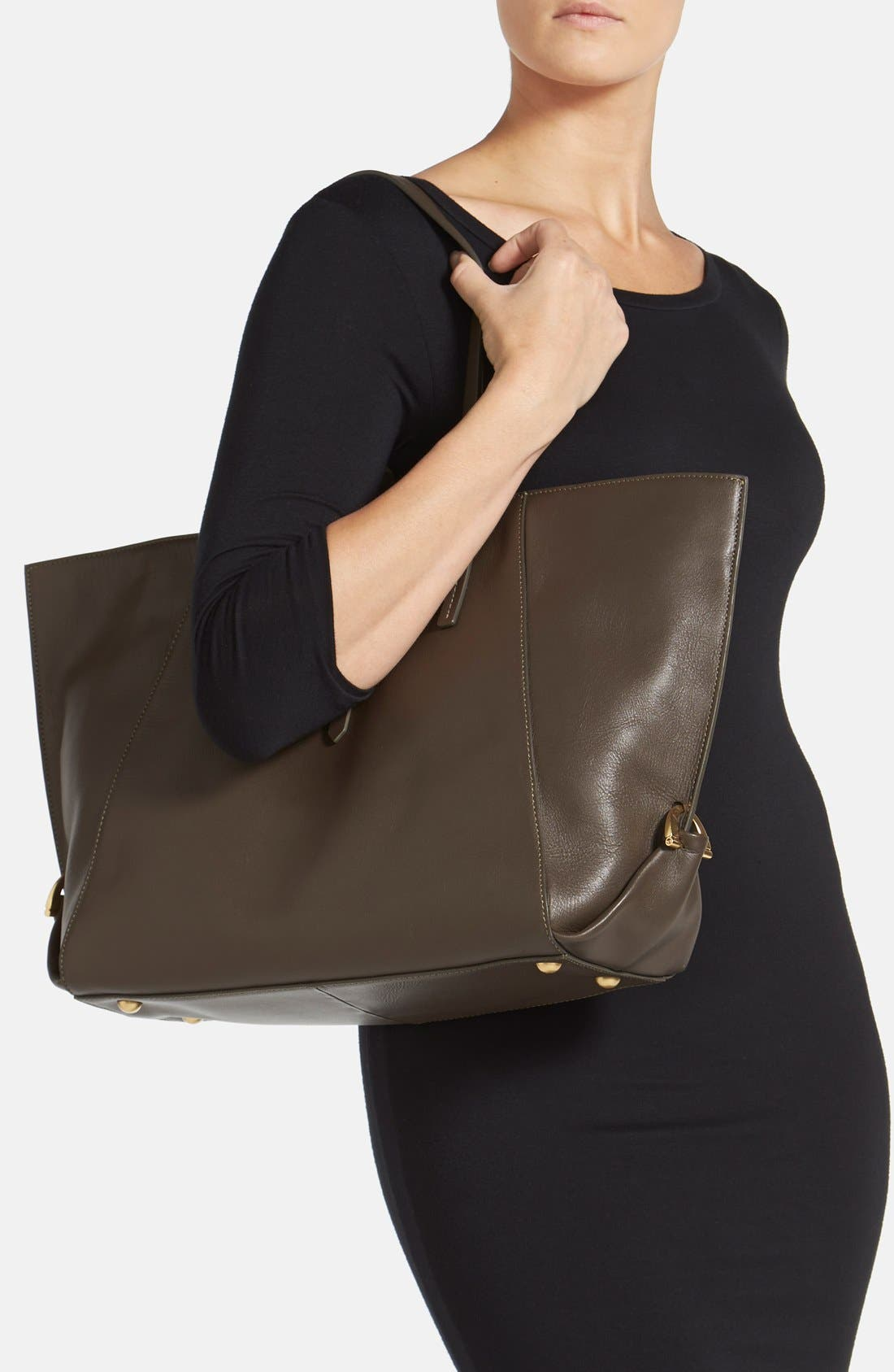 Alternate Image 2  - ZAC Zac Posen 'Eartha' Leather Shopper