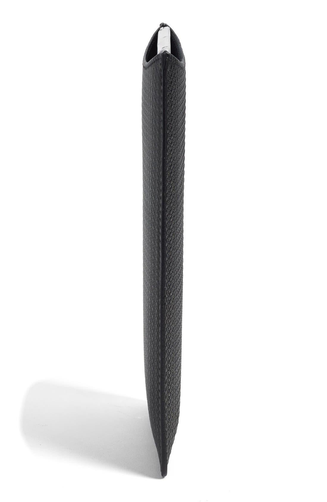 Alternate Image 2  - Canali Leather iPad Mini Sleeve