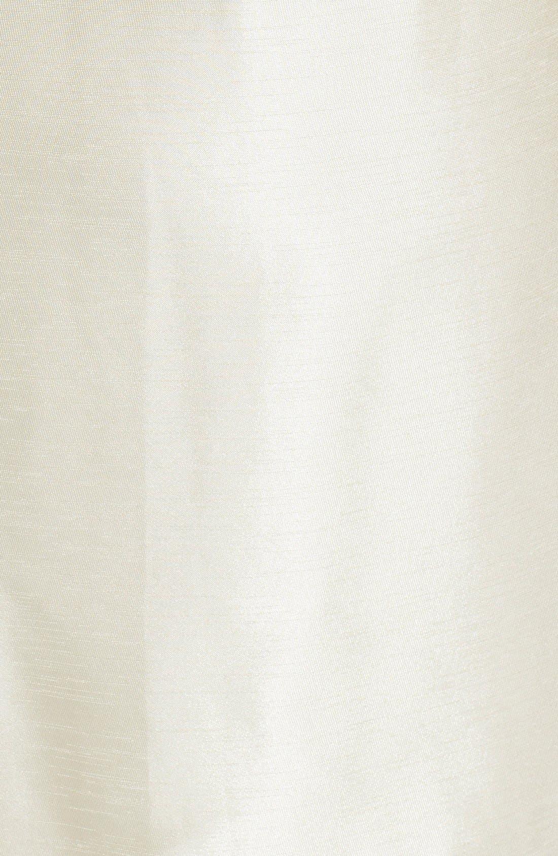 Alternate Image 3  - Tahari by ASL Metallic Leopard Bodice Shantung Sheath Dress (Plus Size)