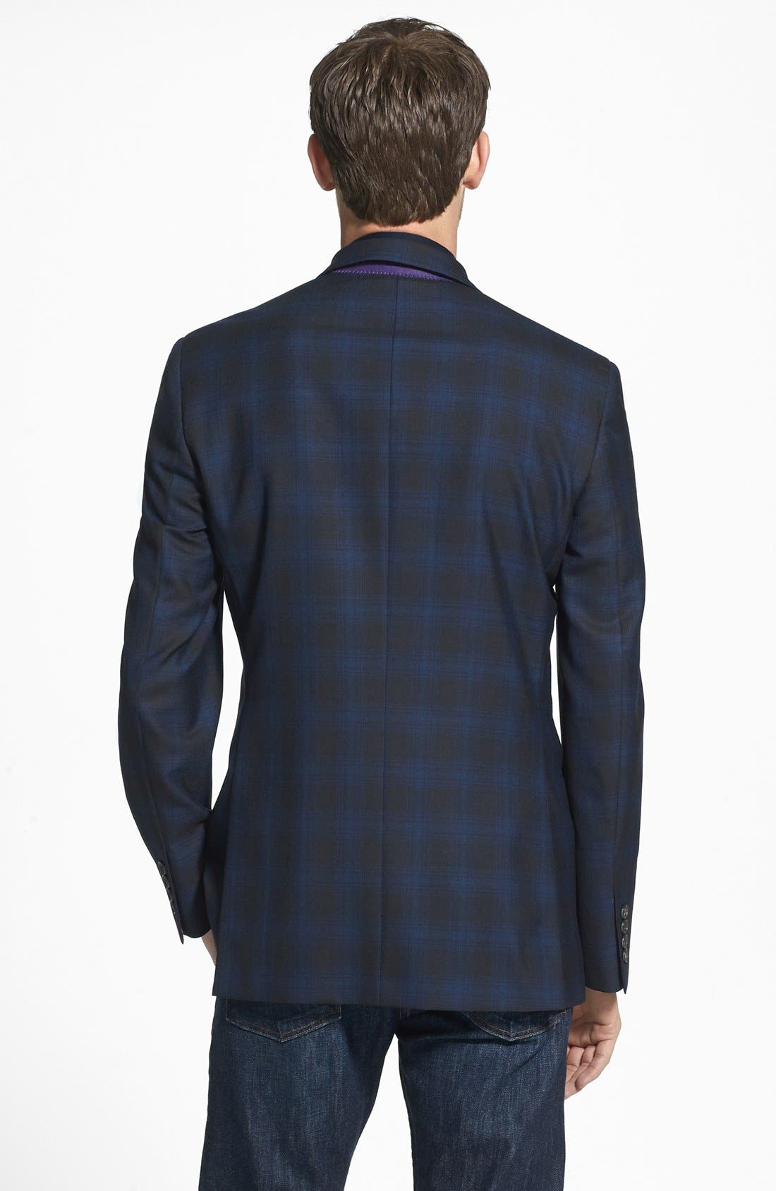 Alternate Image 2  - Ted Baker London 'Jerry' Trim Fit Plaid Sport Coat