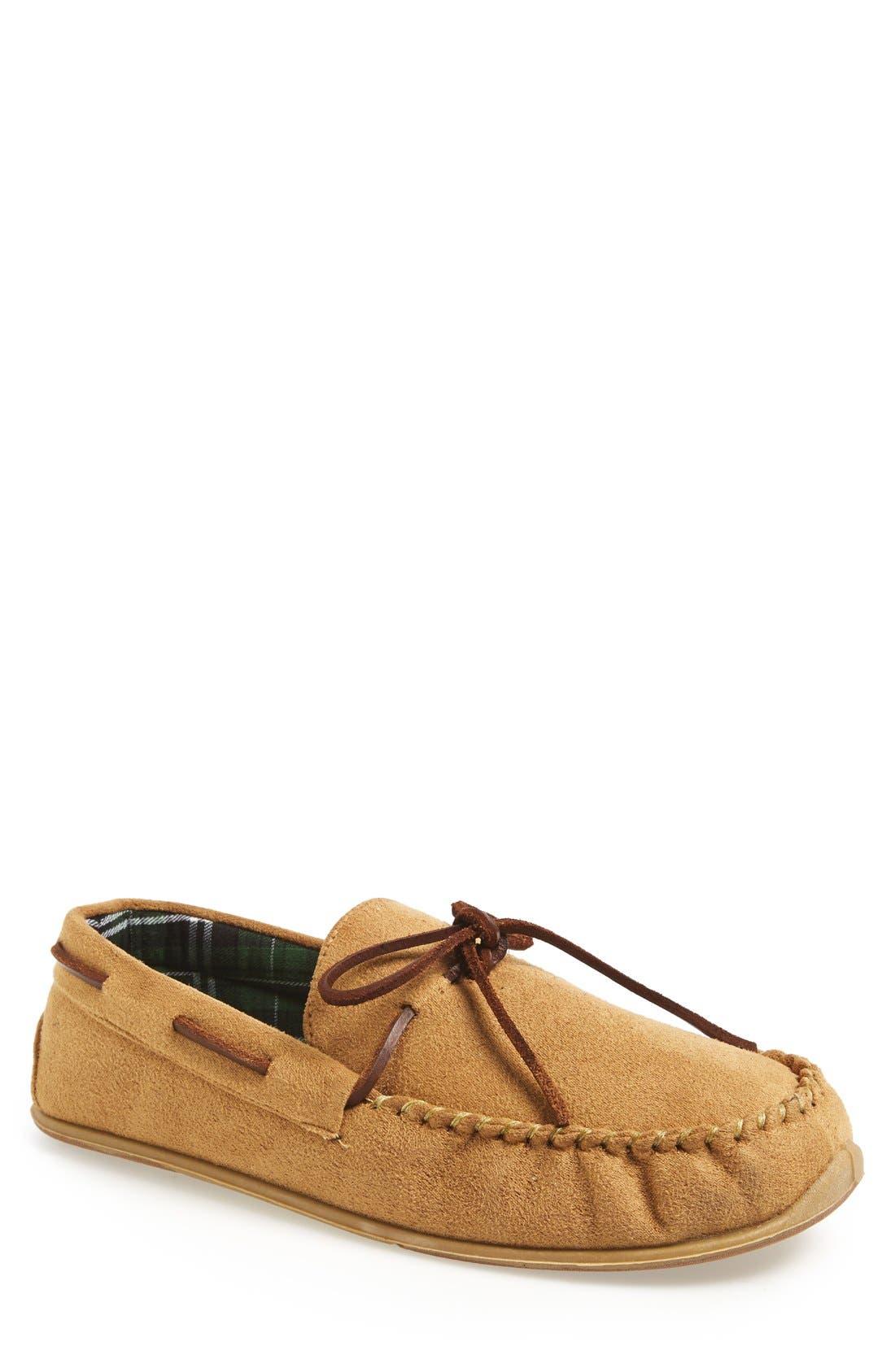 'Fudd' Slipper,                         Main,                         color, Tan