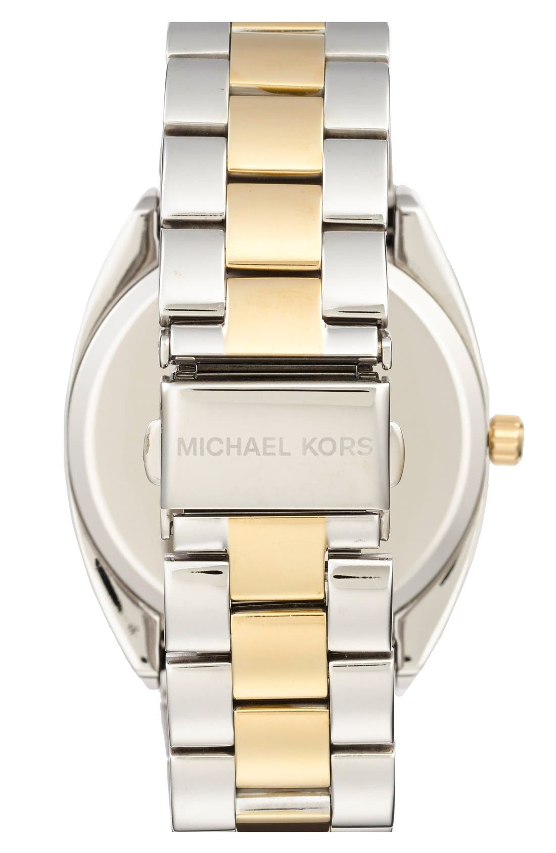 Alternate Image 2  - Michael Kors 'Callie' Multifunction Bracelet Watch, 39mm