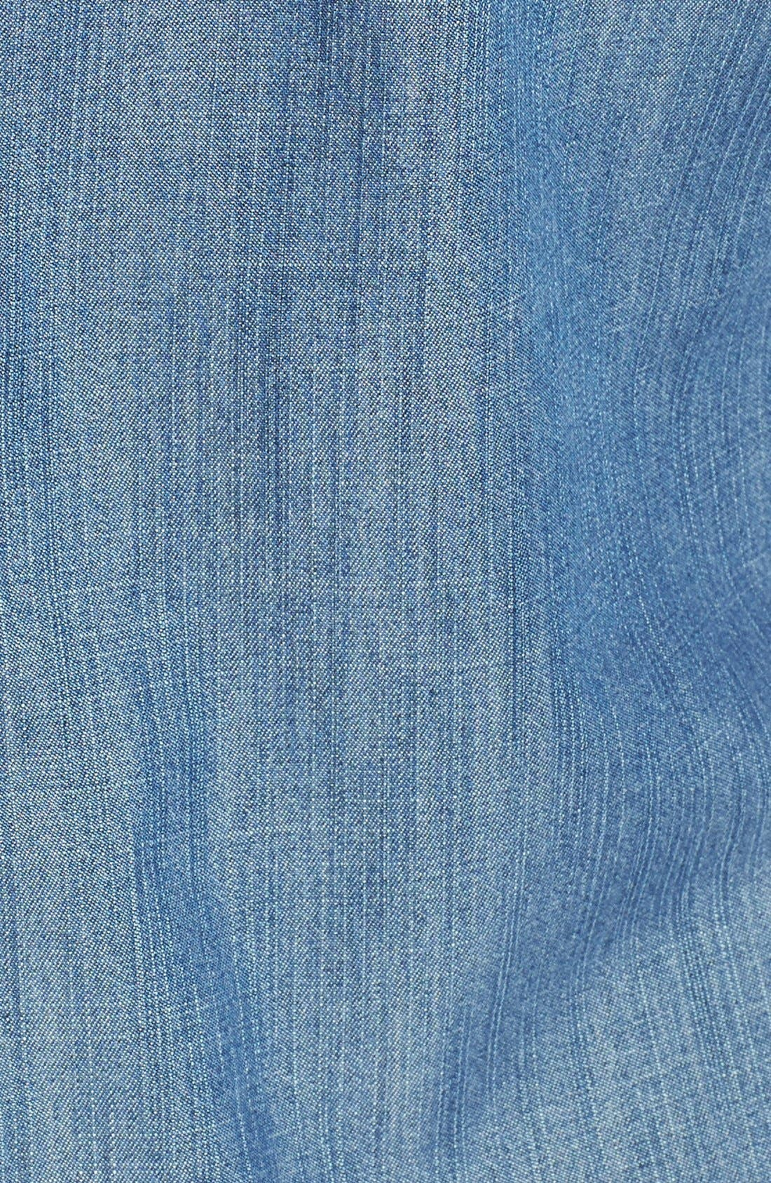 Alternate Image 3  - Eileen Fisher The Fisher Project Classic Collar Chambray Shirtdress