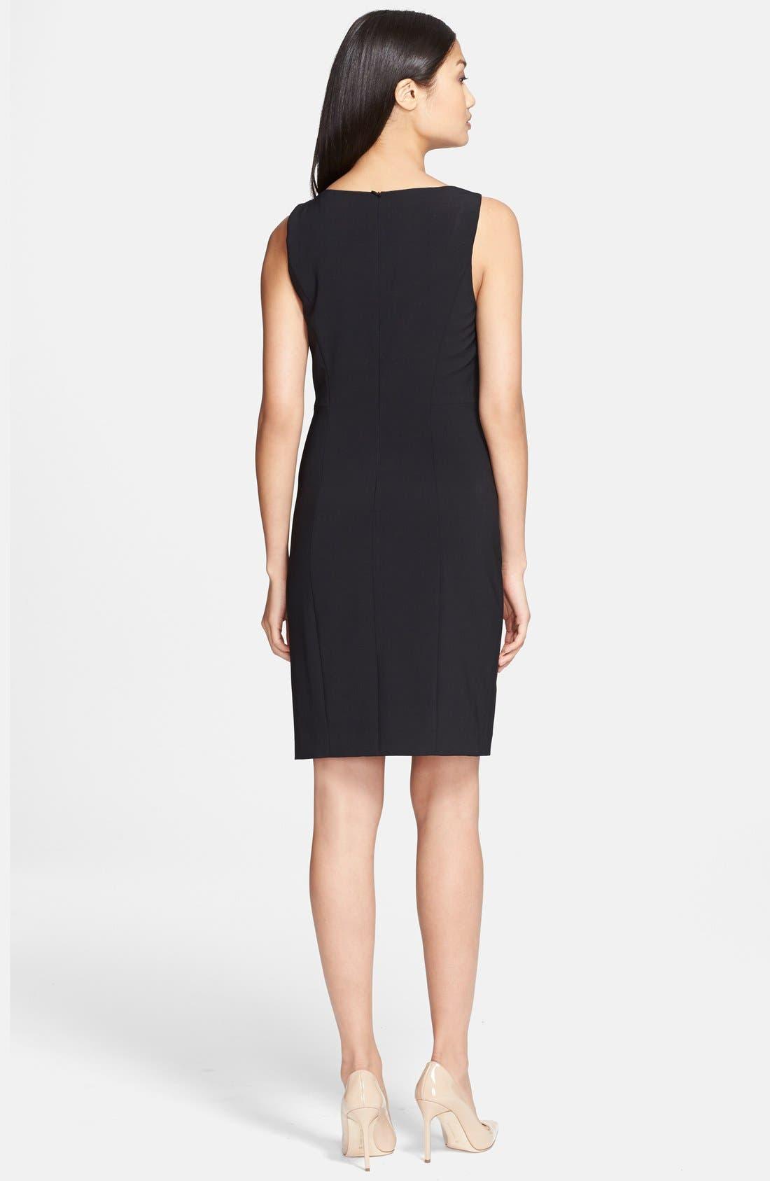Alternate Image 2  - Theory 'Betty 2' Stretch Sheath Dress